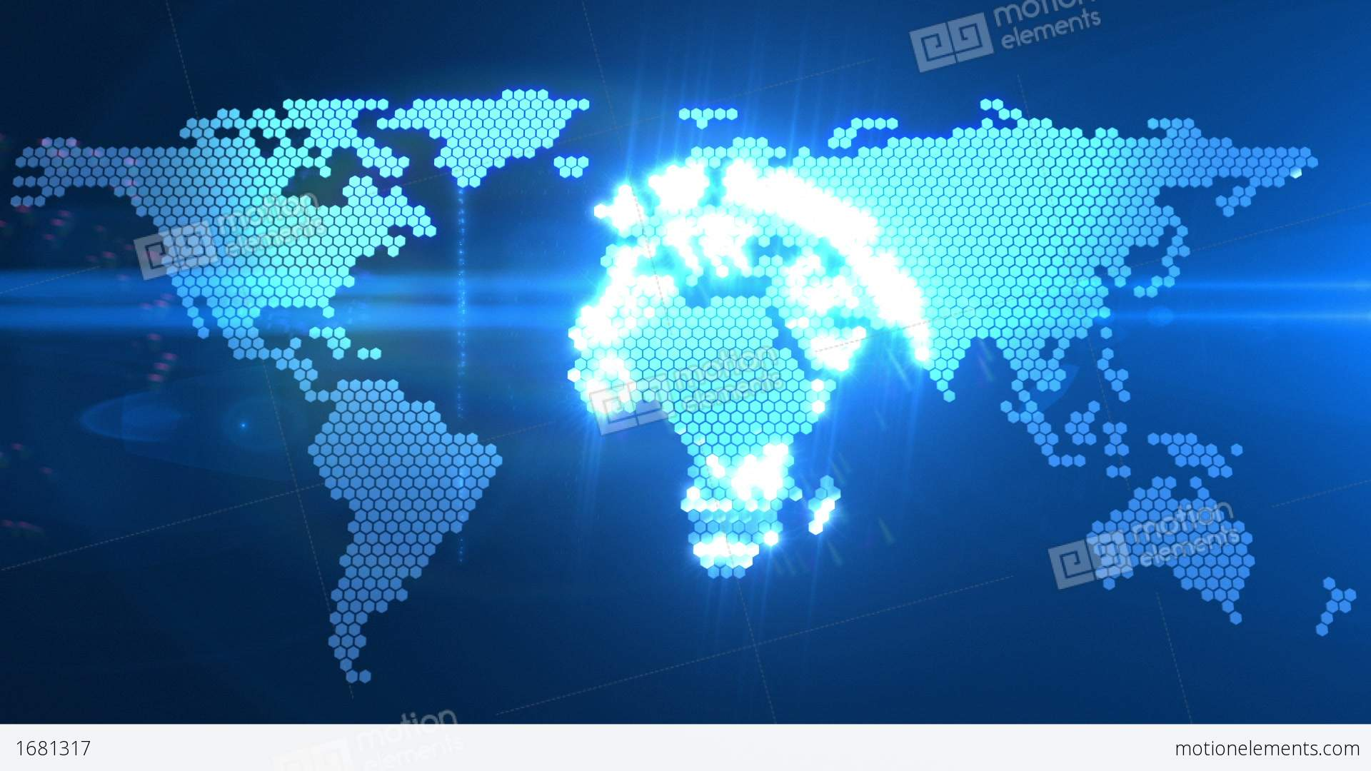 Digital world map stock animation 1681317 digital world map stock video footage gumiabroncs Images