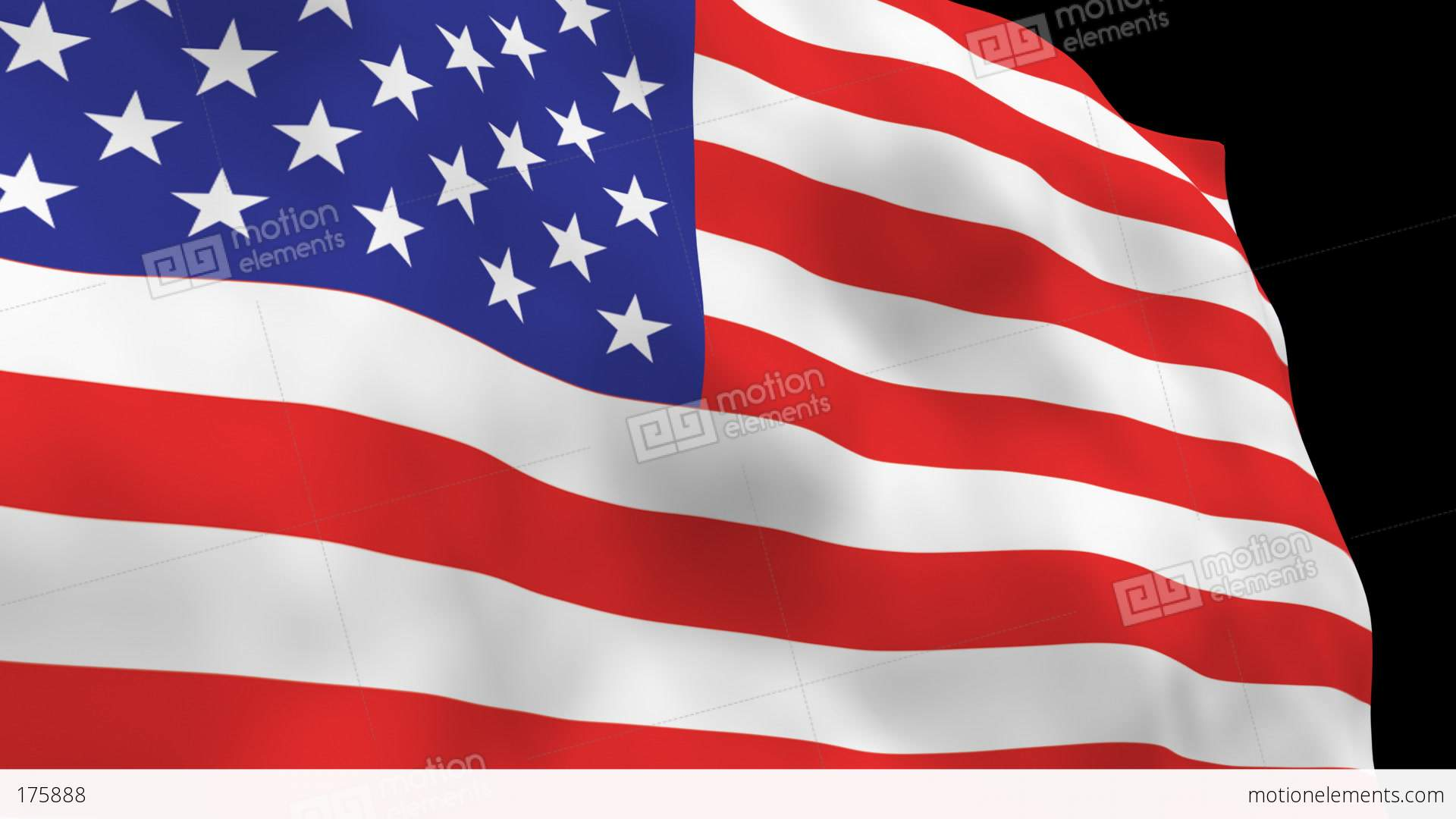 National flag b01 usa hd stock animation 175888 Hd usa