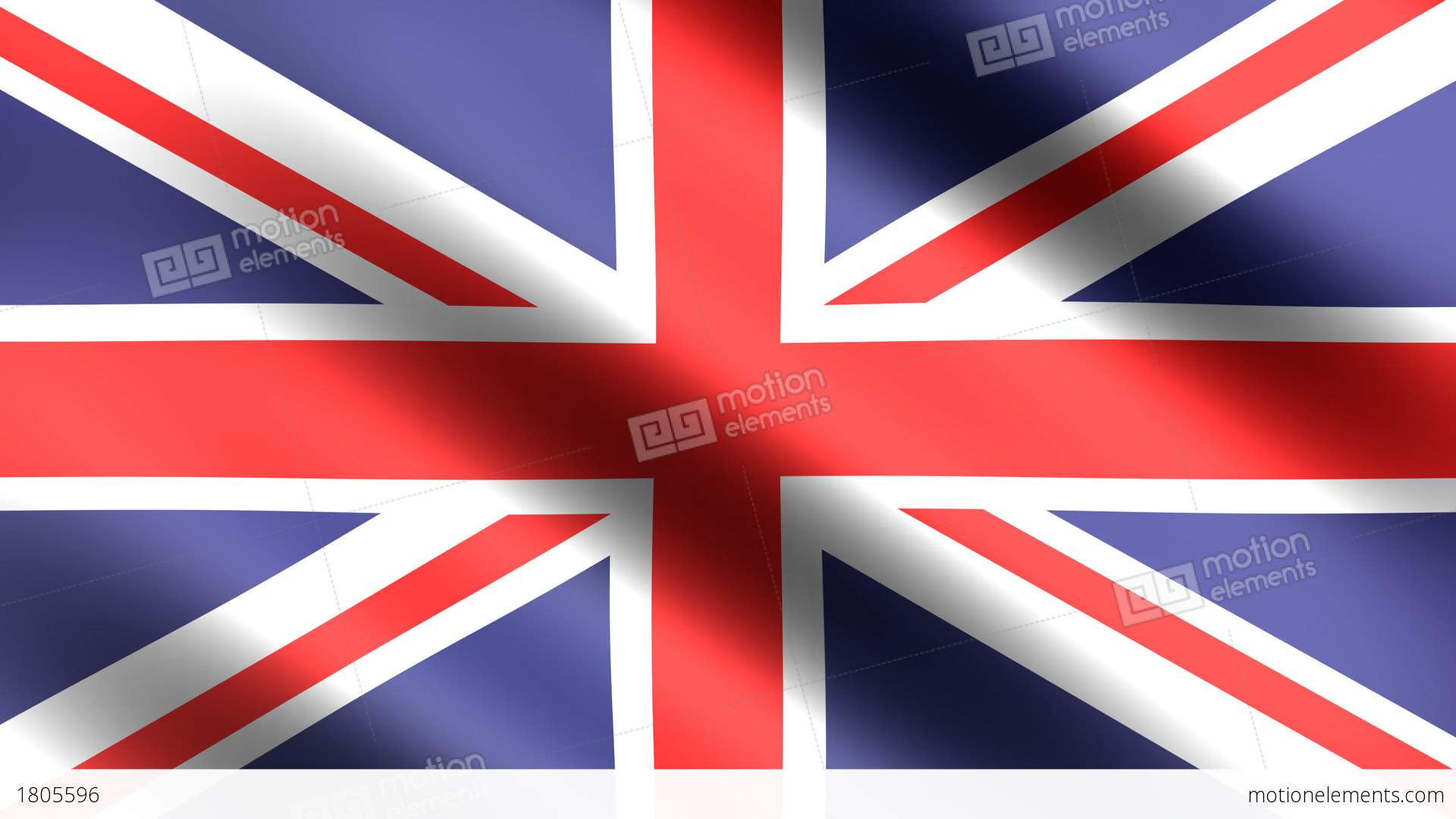 4k flag animation of great britain england stock animation 1805596