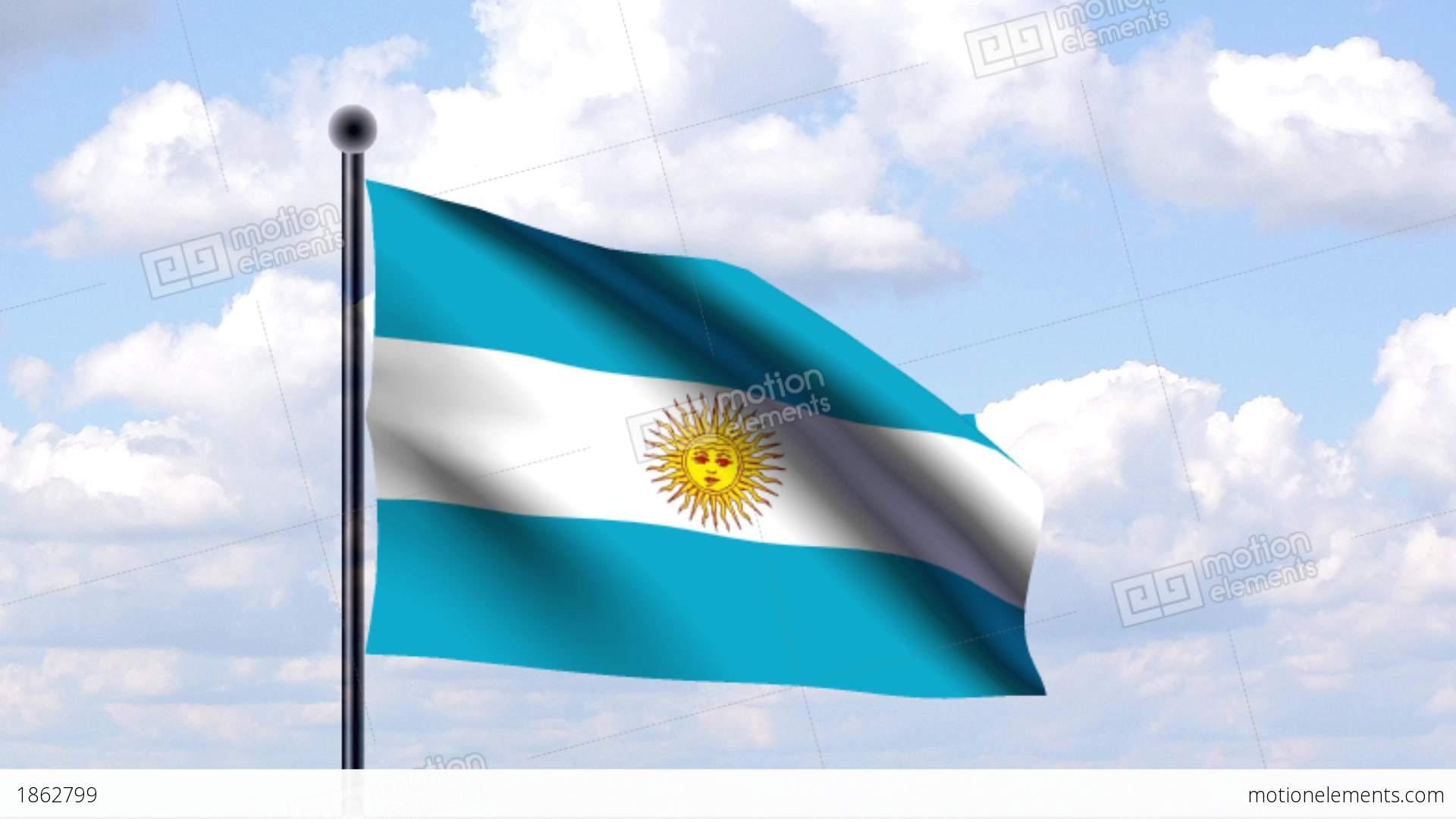 Argentina Flag Animated Gif