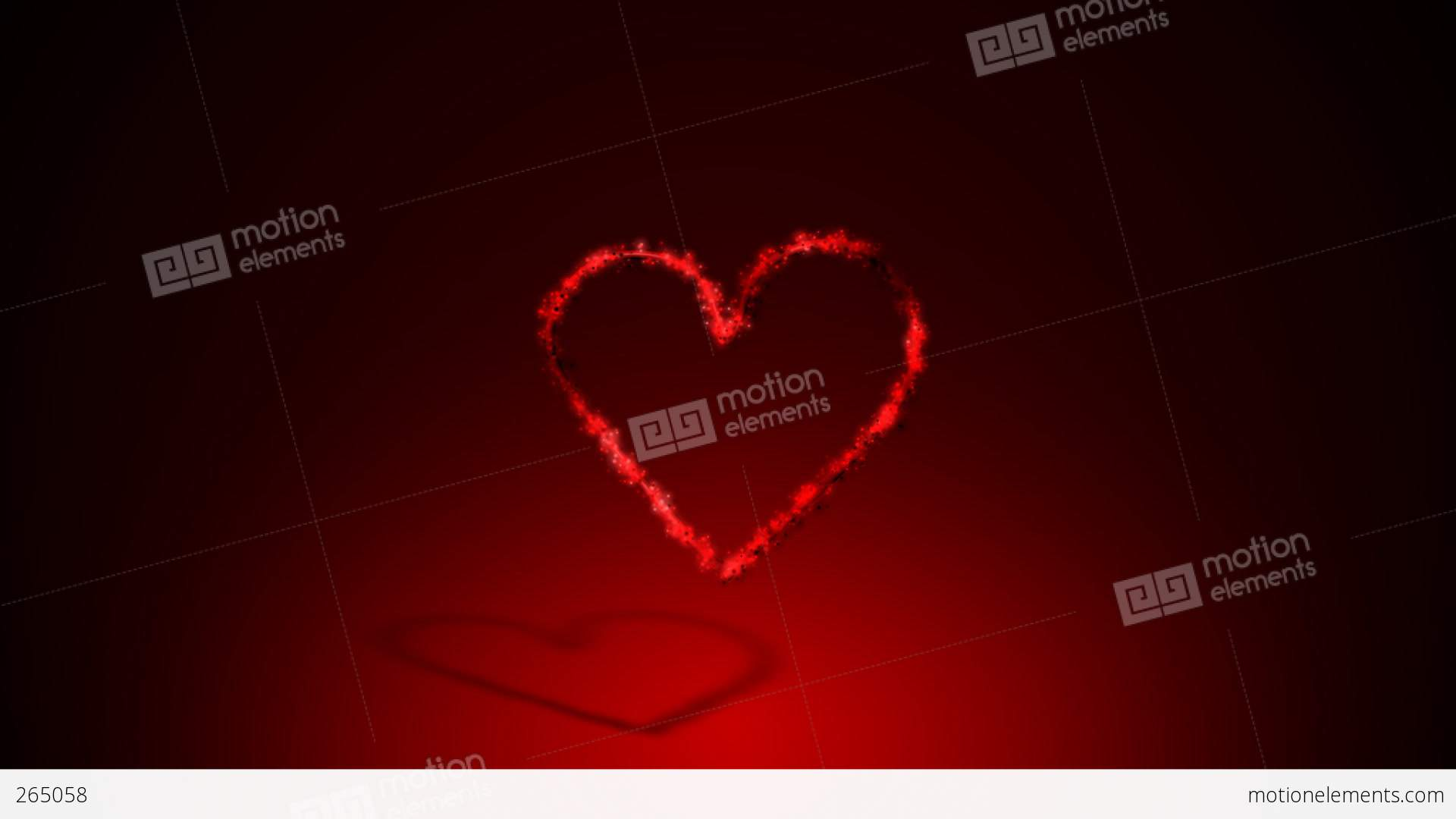 animated heart 1 example 1 happy mother u0027s day stock animation