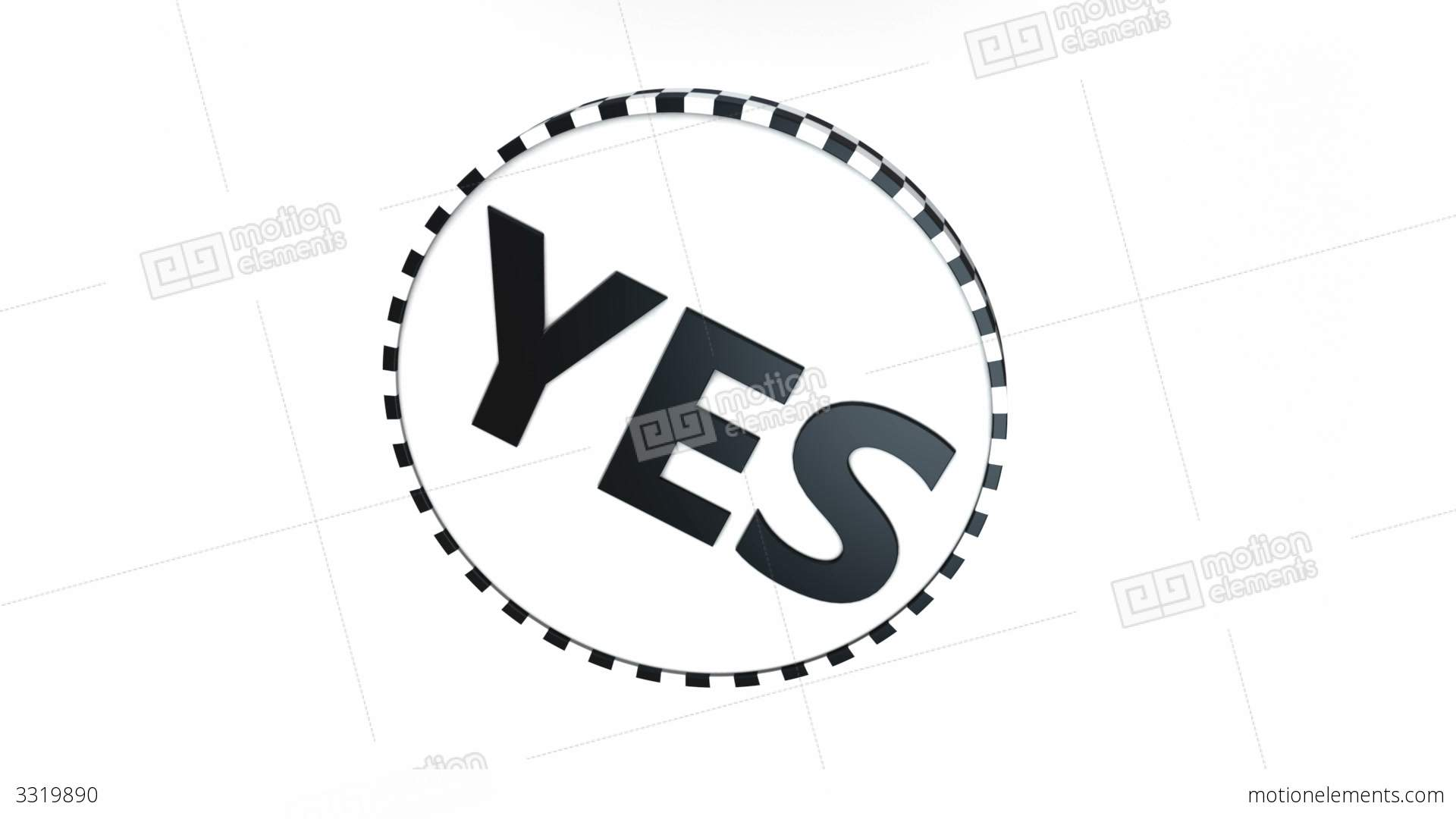 Yes no coin flip stock animation 3319890 yes no coin flip stock video footage buycottarizona Gallery