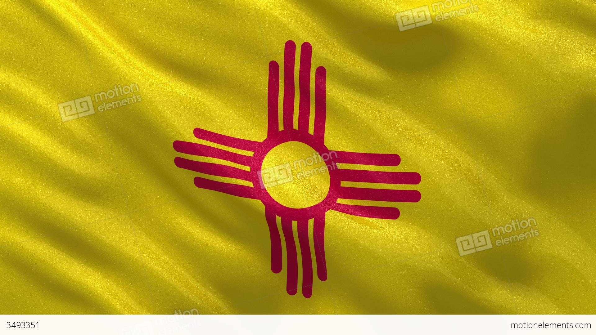 Us state flag of new mexico seamless loop stock animation 3493351 us state flag of new mexico seamless loop stock video footage buycottarizona