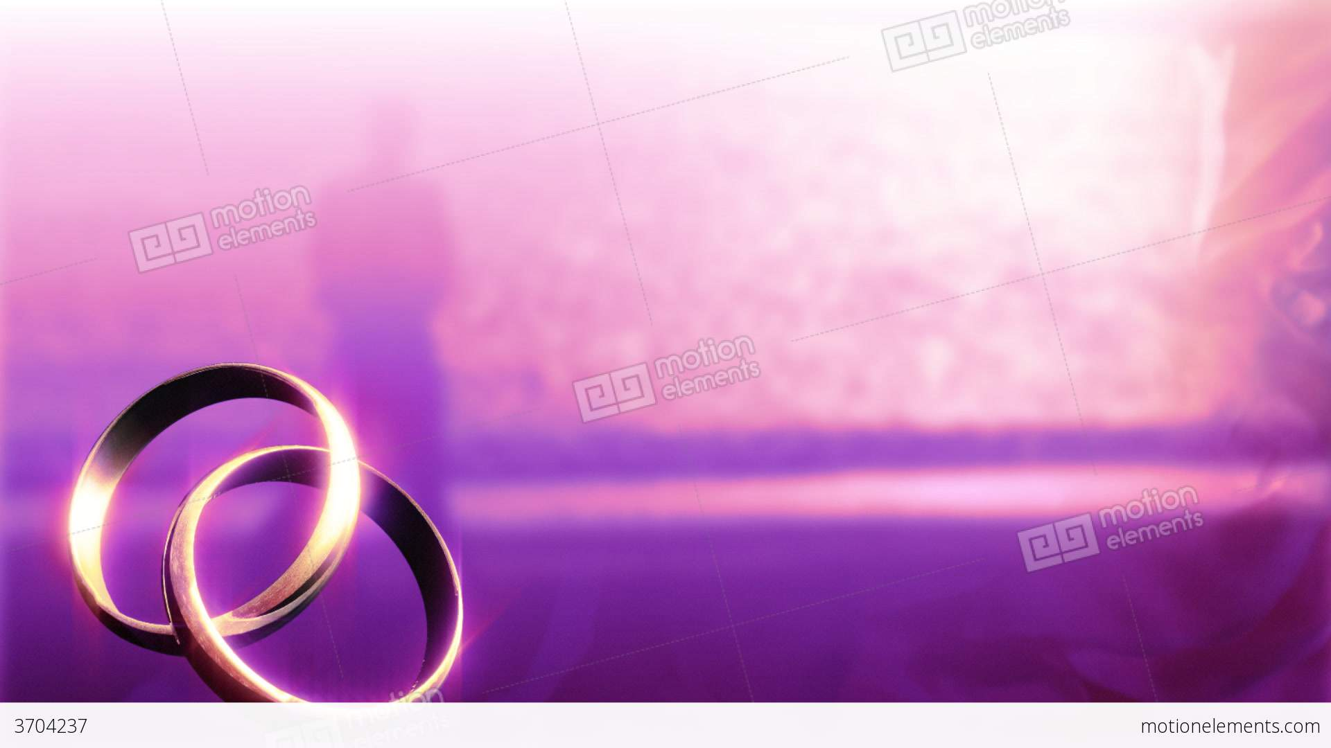 Wedding Background Stock Video Footage 3704237
