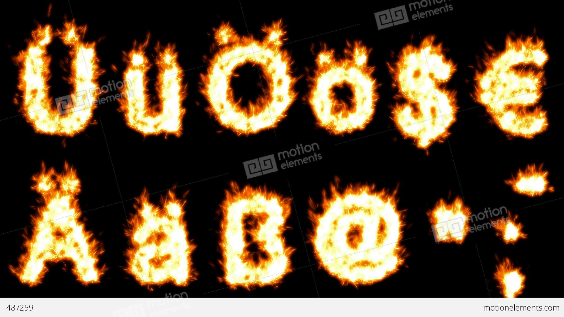 Loopable Burning German Umlauts Dollar Euro Comma Quote Dot