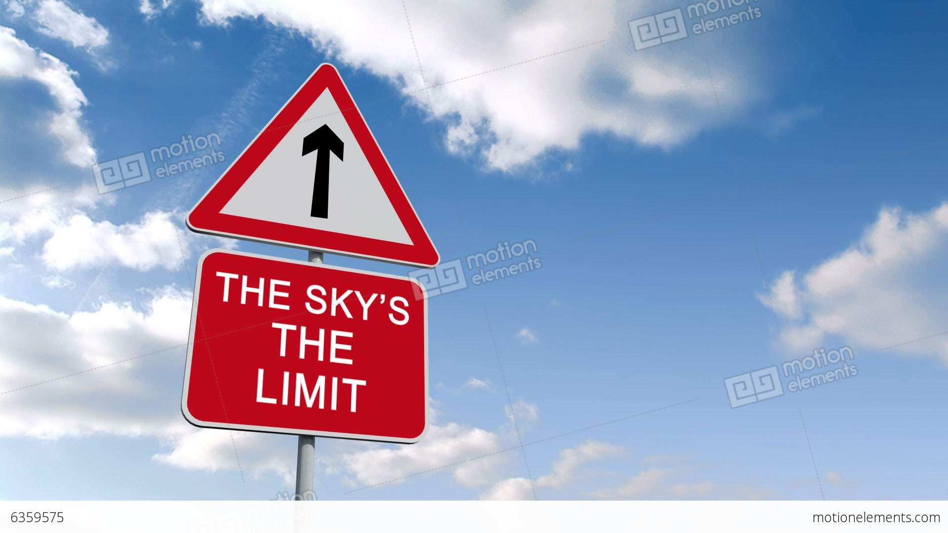 Imlorganisationse Wörterbuch The Skys The Limit Englisch