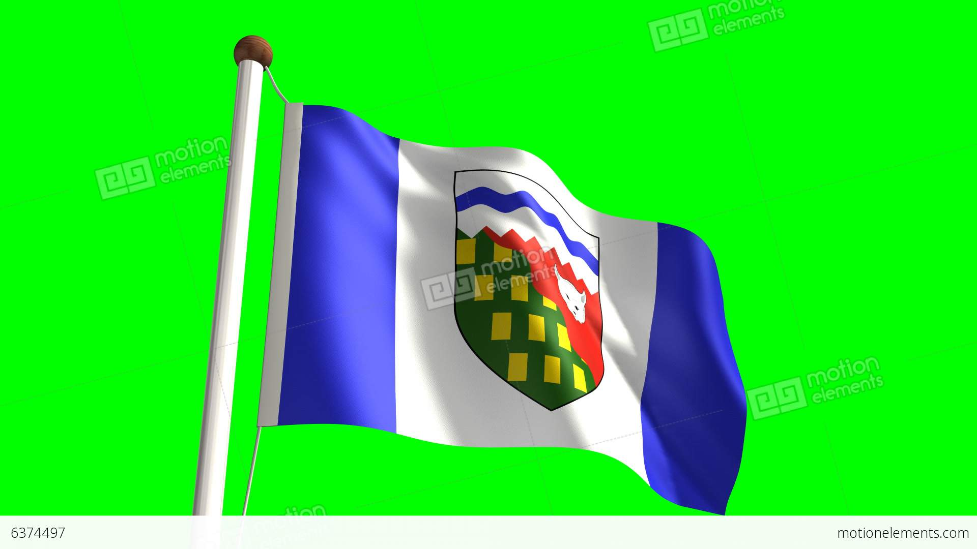 Northwest territories flag stock animation 6374497 northwest territories flag stock video footage symbols biocorpaavc Choice Image