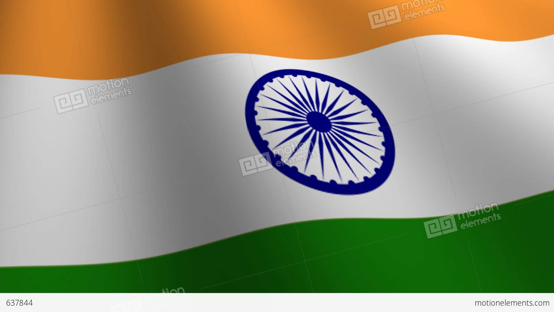 India Country Flag: India Flag Loop Flags Flags Nation Country Nations United