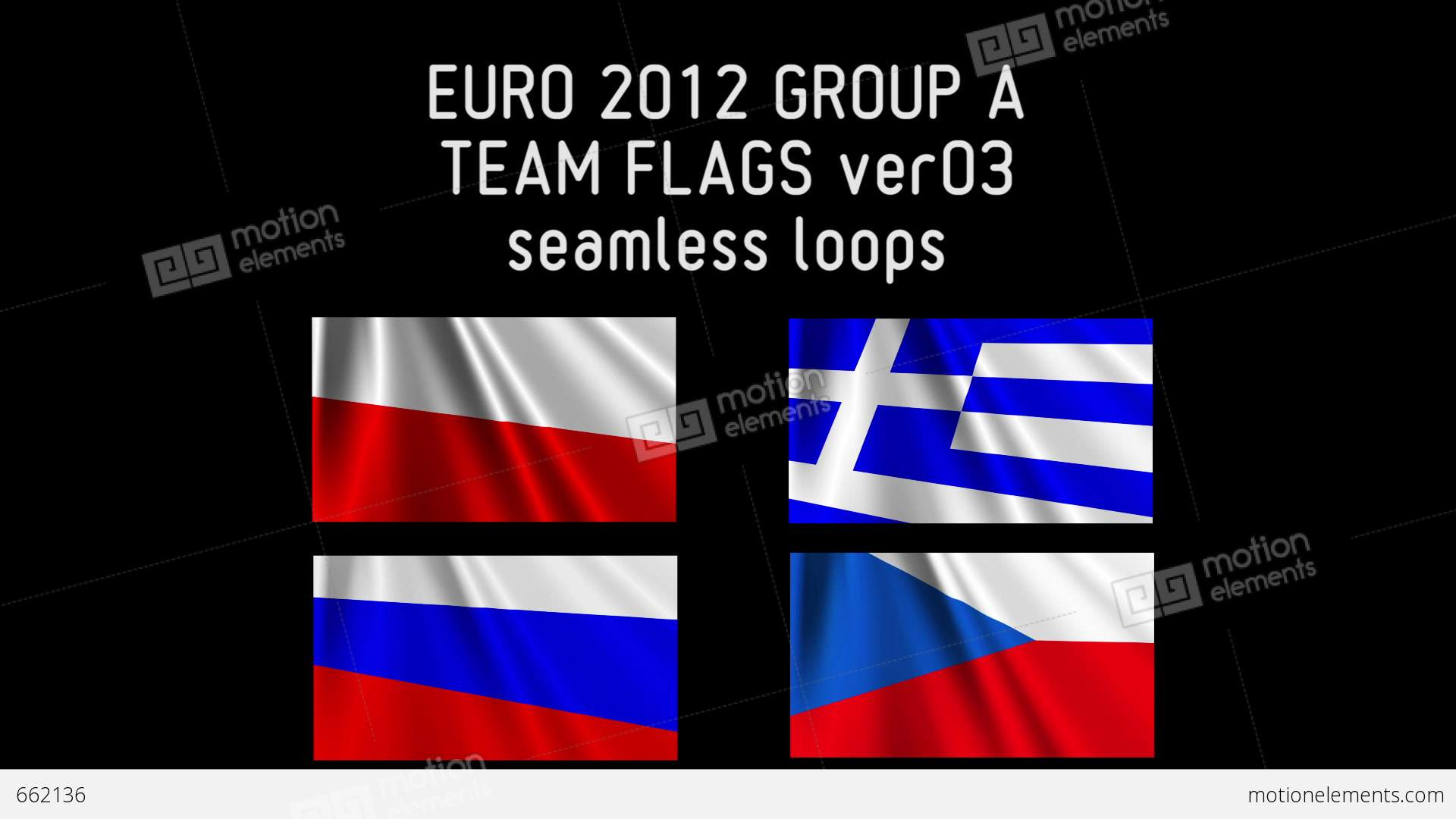 Euro 2012 group a flags 03 662136 for Euro 2012 groupe