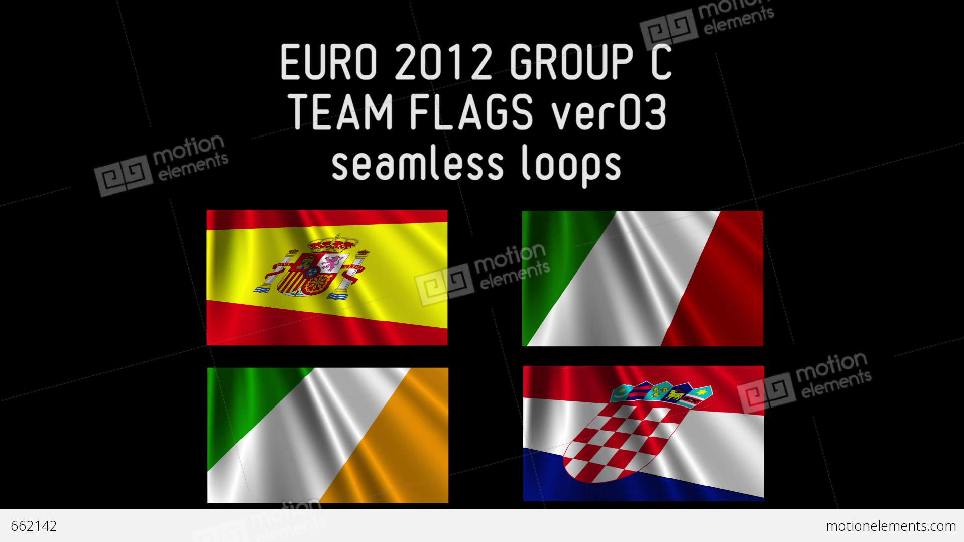 Euro 2012 group c flags 03 662142 for Euro 2012 groupe