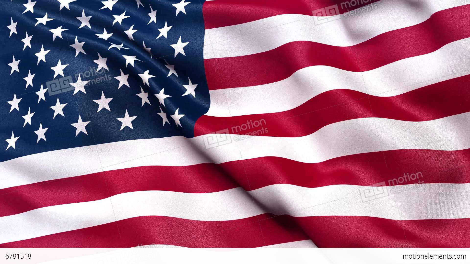 4k flag of usa seamless loop ultra hd stock animation - American flag hd ...