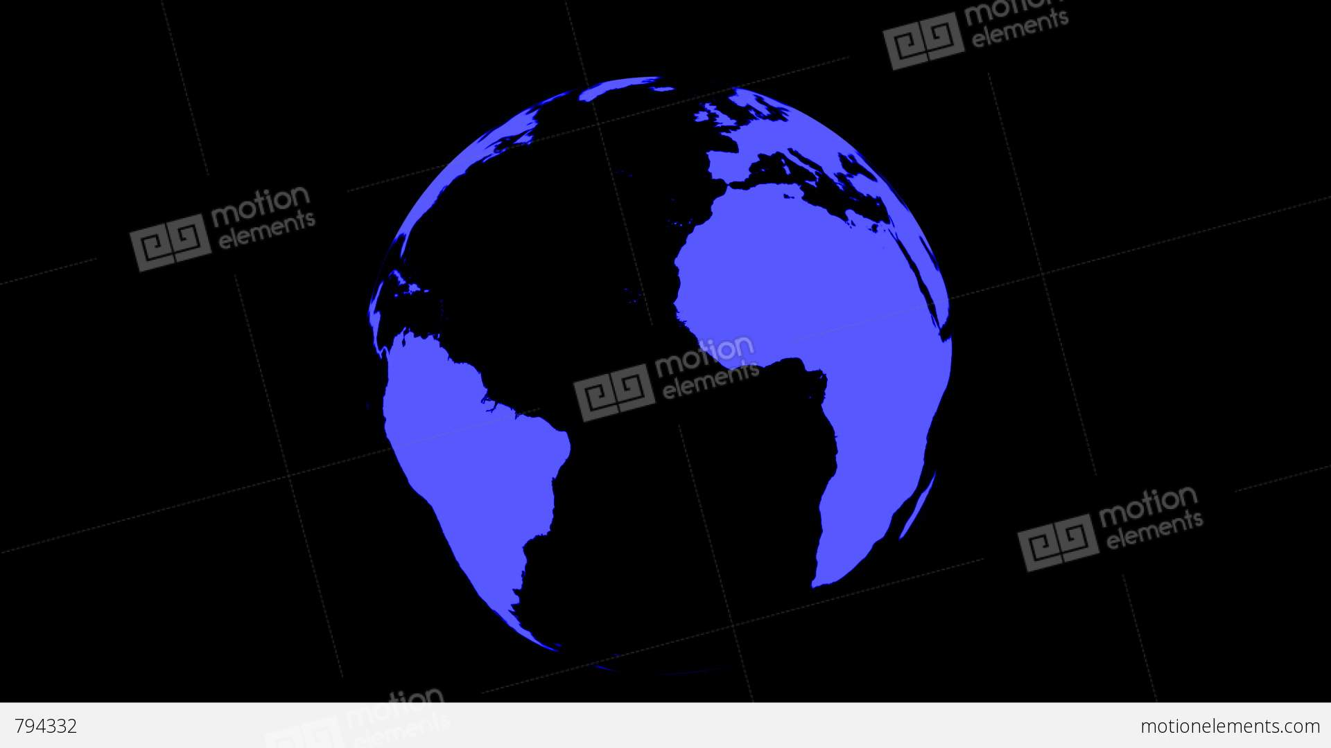 World map wraps to spinning globe black background stock animation world map wraps to spinning globe black background stock video footage gumiabroncs Gallery