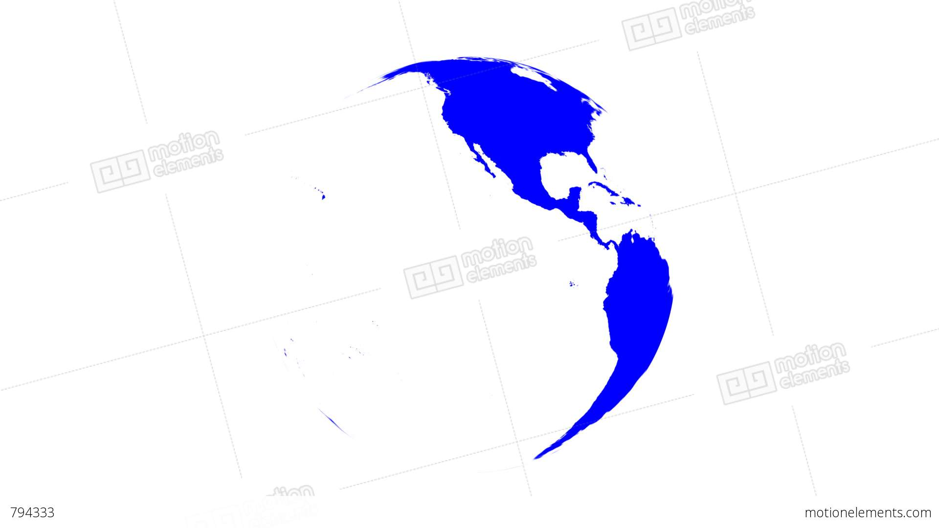 World map wraps to spinning globe white background stock animation world map wraps to spinning globe white background stock video footage gumiabroncs Gallery
