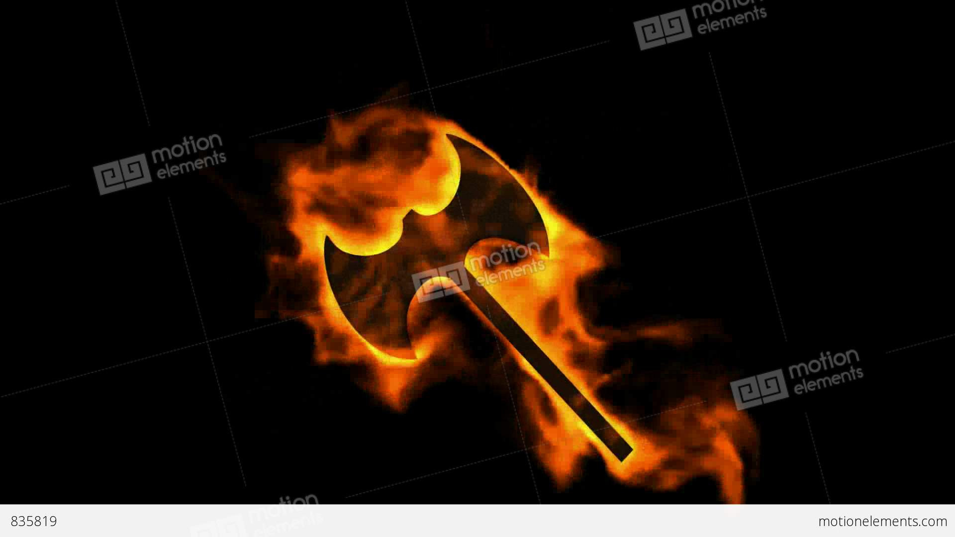 Fire axe symbolburning ancient arms stock animation 835819 fire axe symbolburning ancient arms stock video footage buycottarizona Choice Image