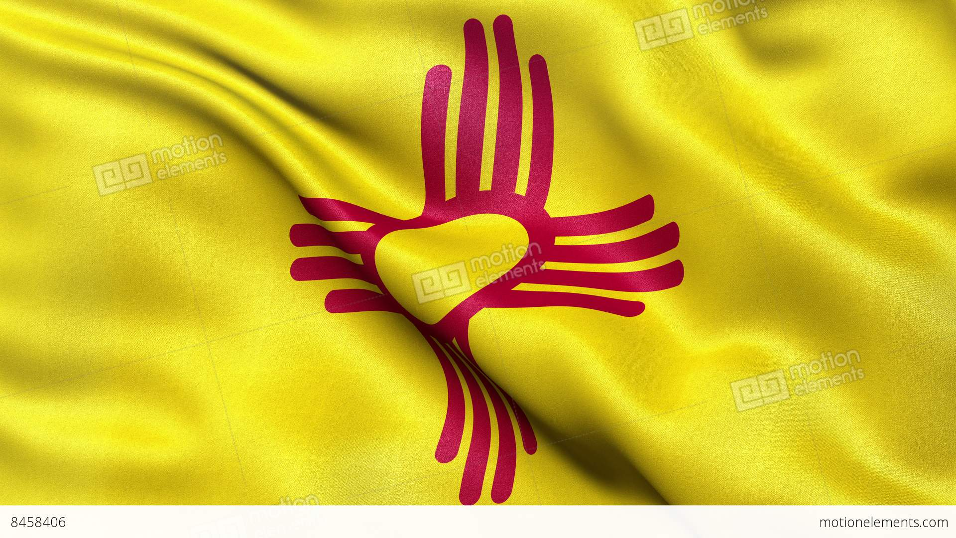 4k new mexico state flag seamless loop ultra hd stock animation 4k new mexico state flag seamless loop ultra hd stock video footage symbols buycottarizona