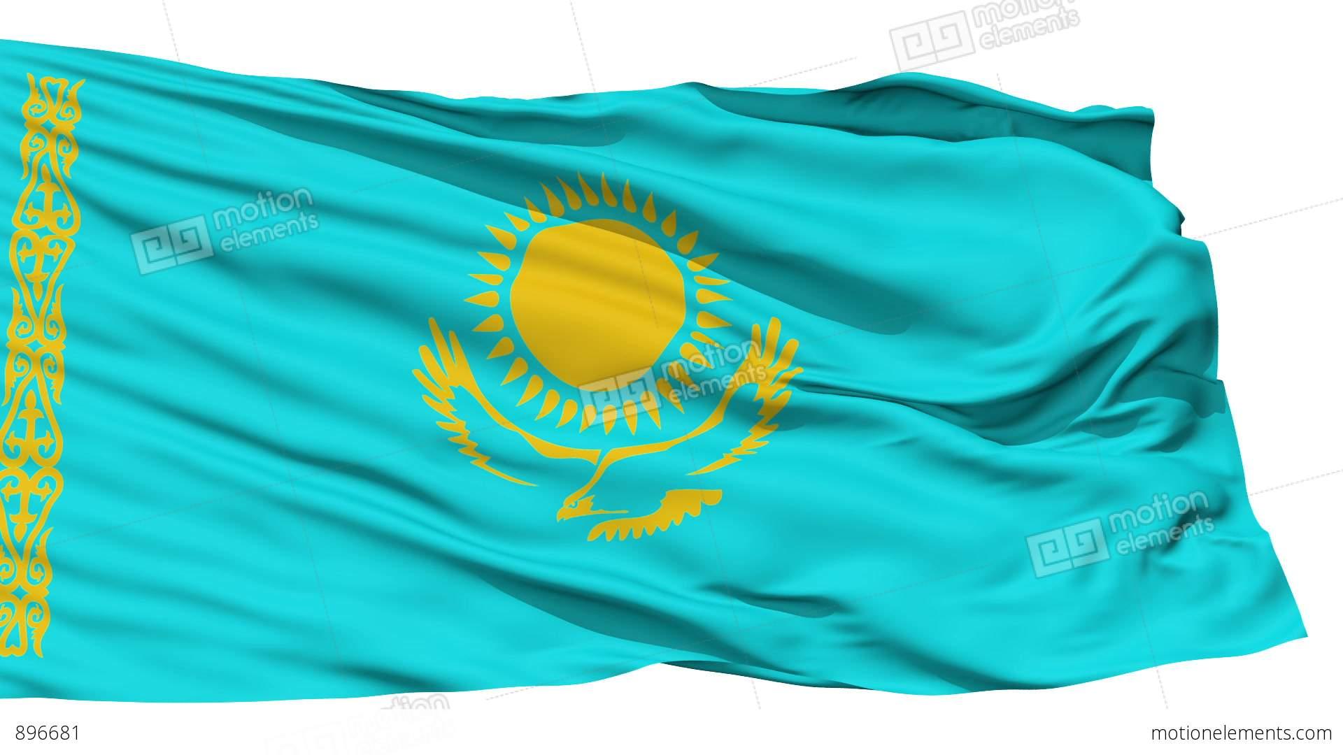Flag of Kazakhstan - Pictures, Animation | 3D Flags ... |Kazakhstan Animation
