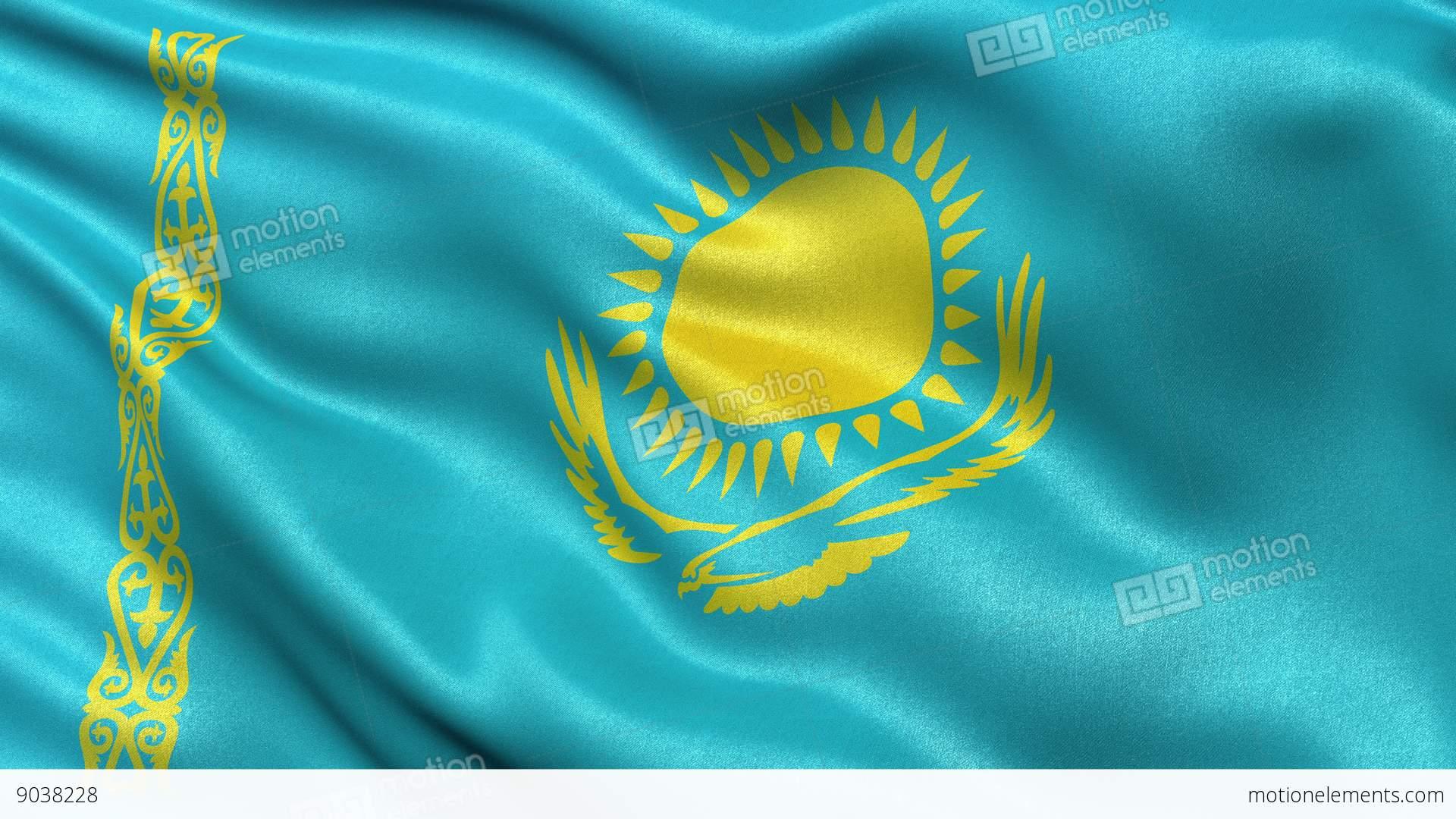 Flag Kazakhstan Animated Flag Gif |Kazakhstan Animation