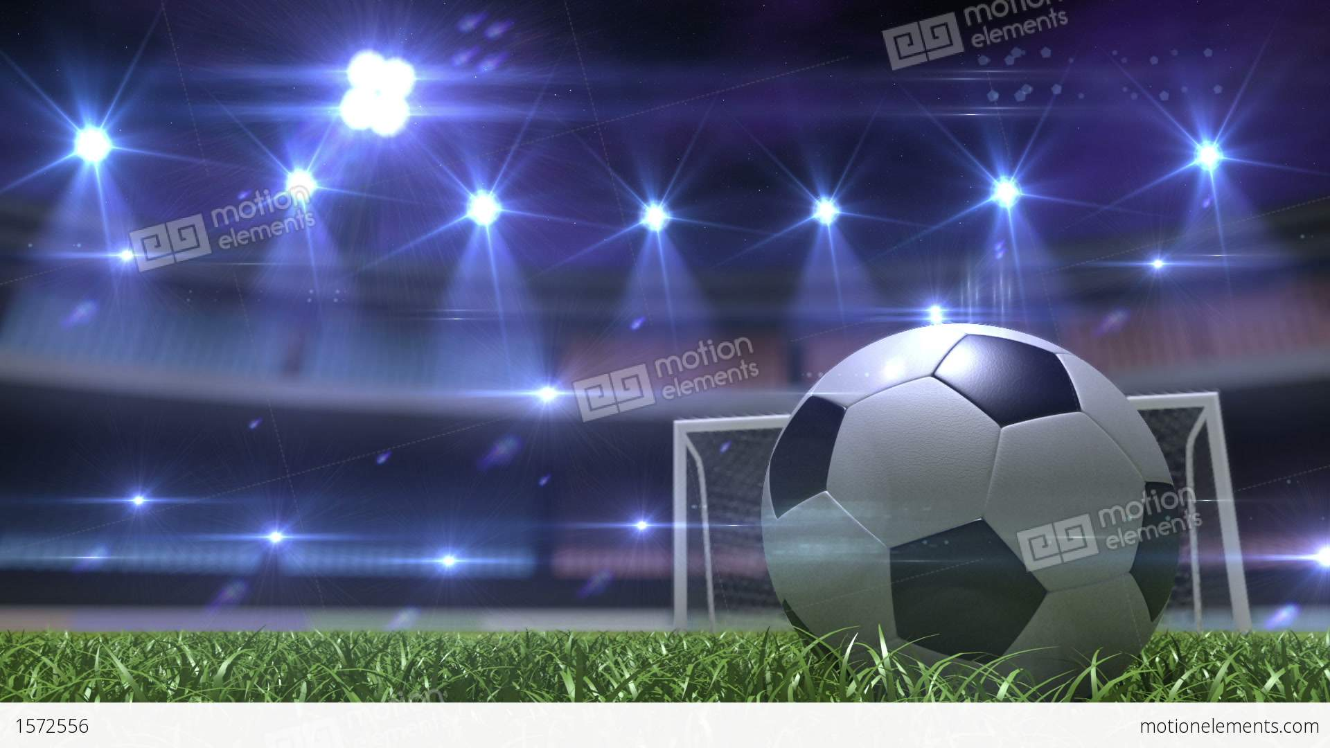football background stock animation