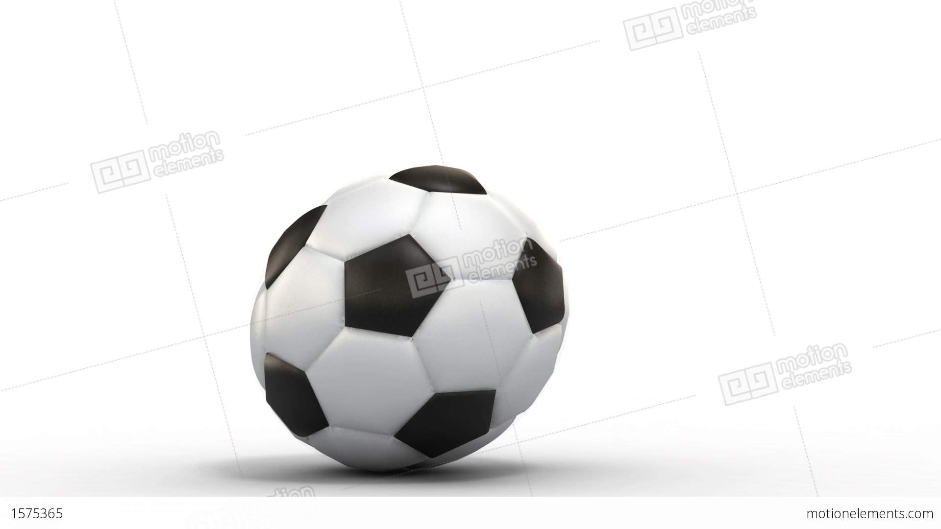 Rolling Soccer Ball Stock Animation | 1575365 Rolling Soccer Ball