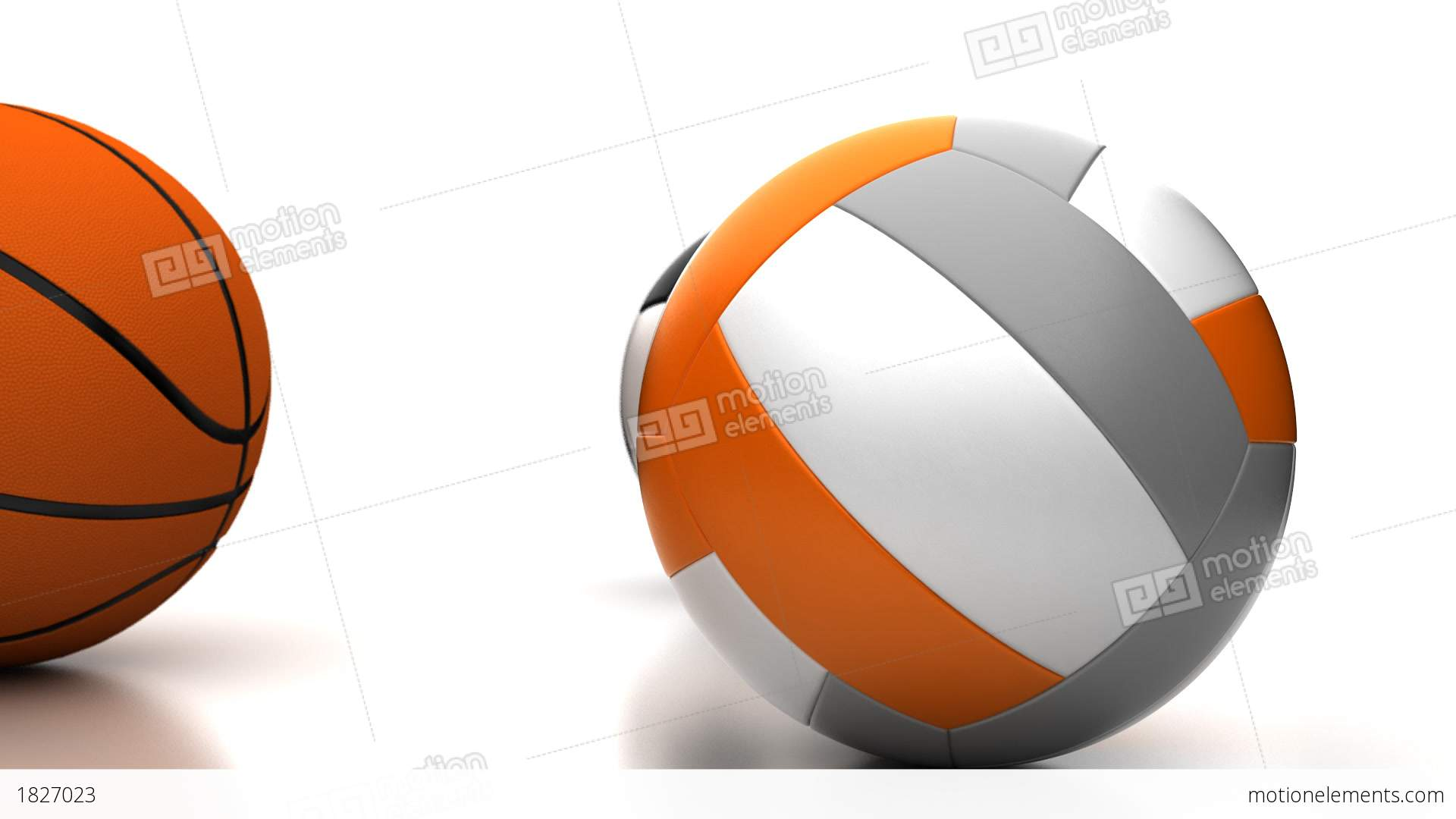 basketball and volleyball Volleyball is a team sport in which two teams of six players are separated by a net each team tries to score points by grounding a ball on the other team.