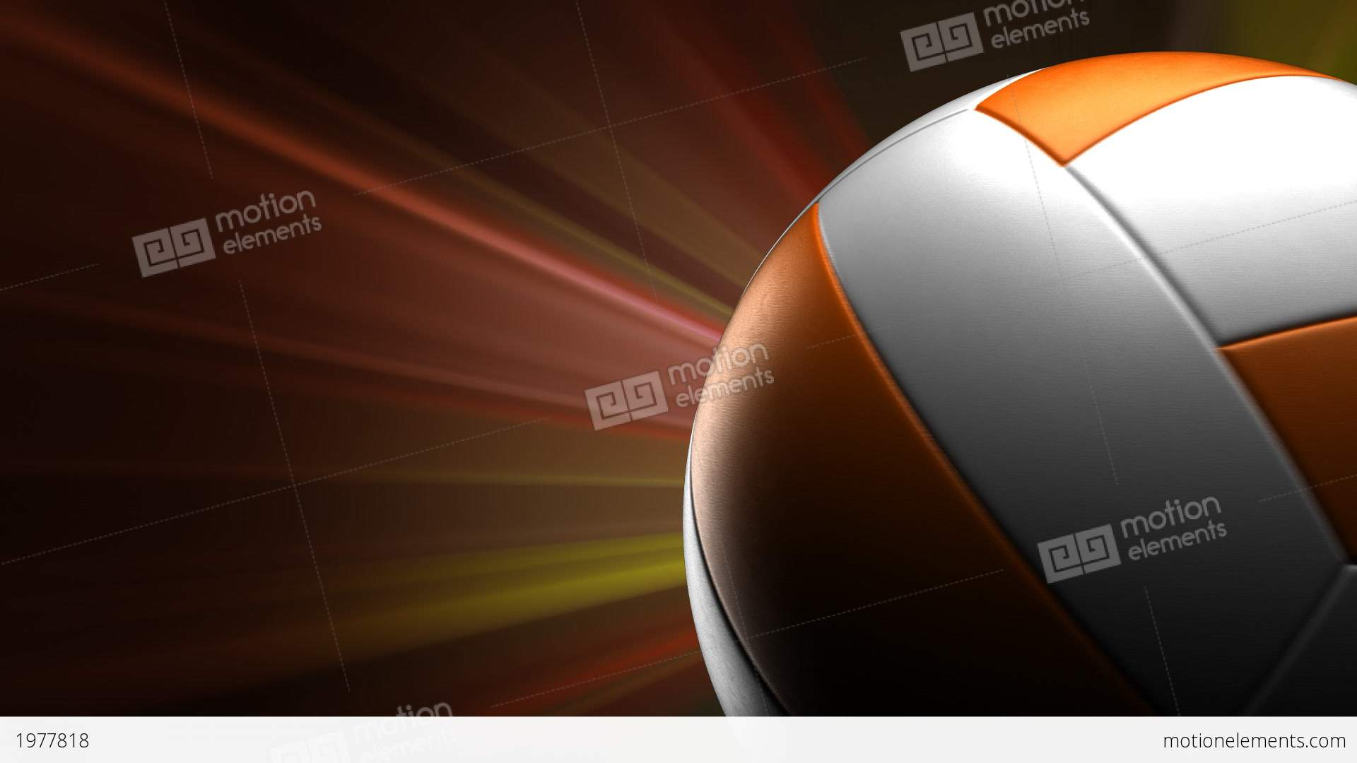 volleyball background stock animation 1977818