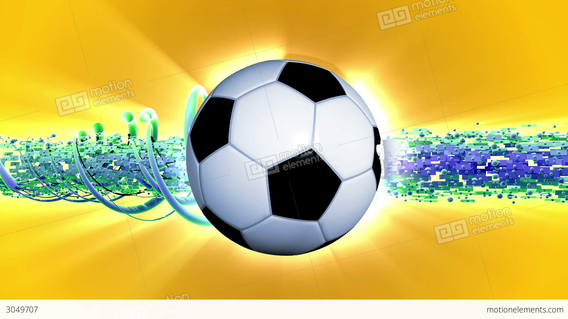 soccer world cup background stock animation 3049707