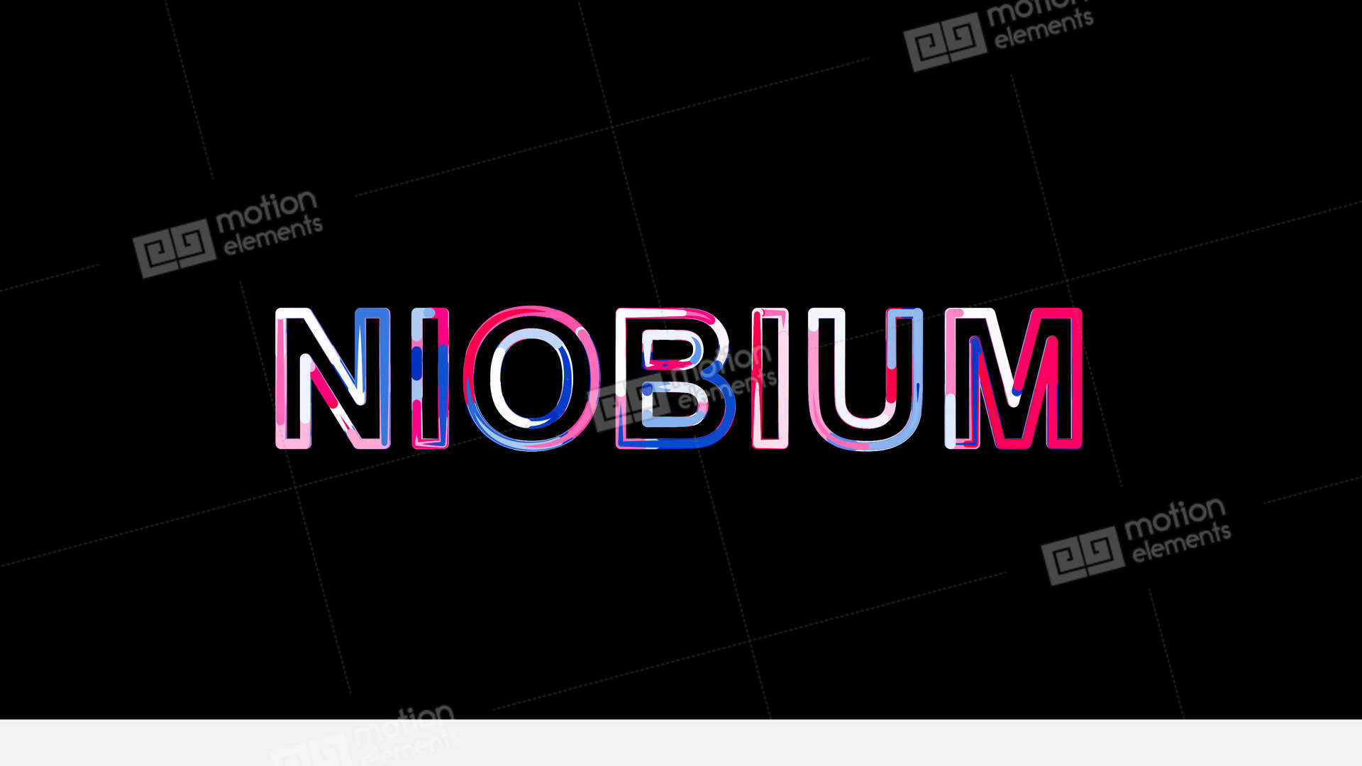 Letters are collected in element of periodic table niobium then letters are collected in element of periodic table stock video footage urtaz Gallery