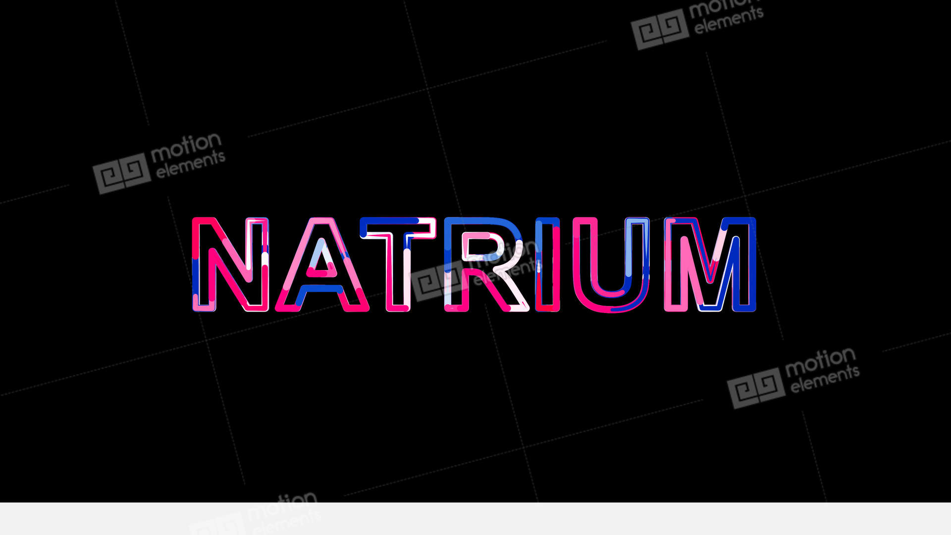 Letters Are Collected In Element Of Periodic Table Natrium Then