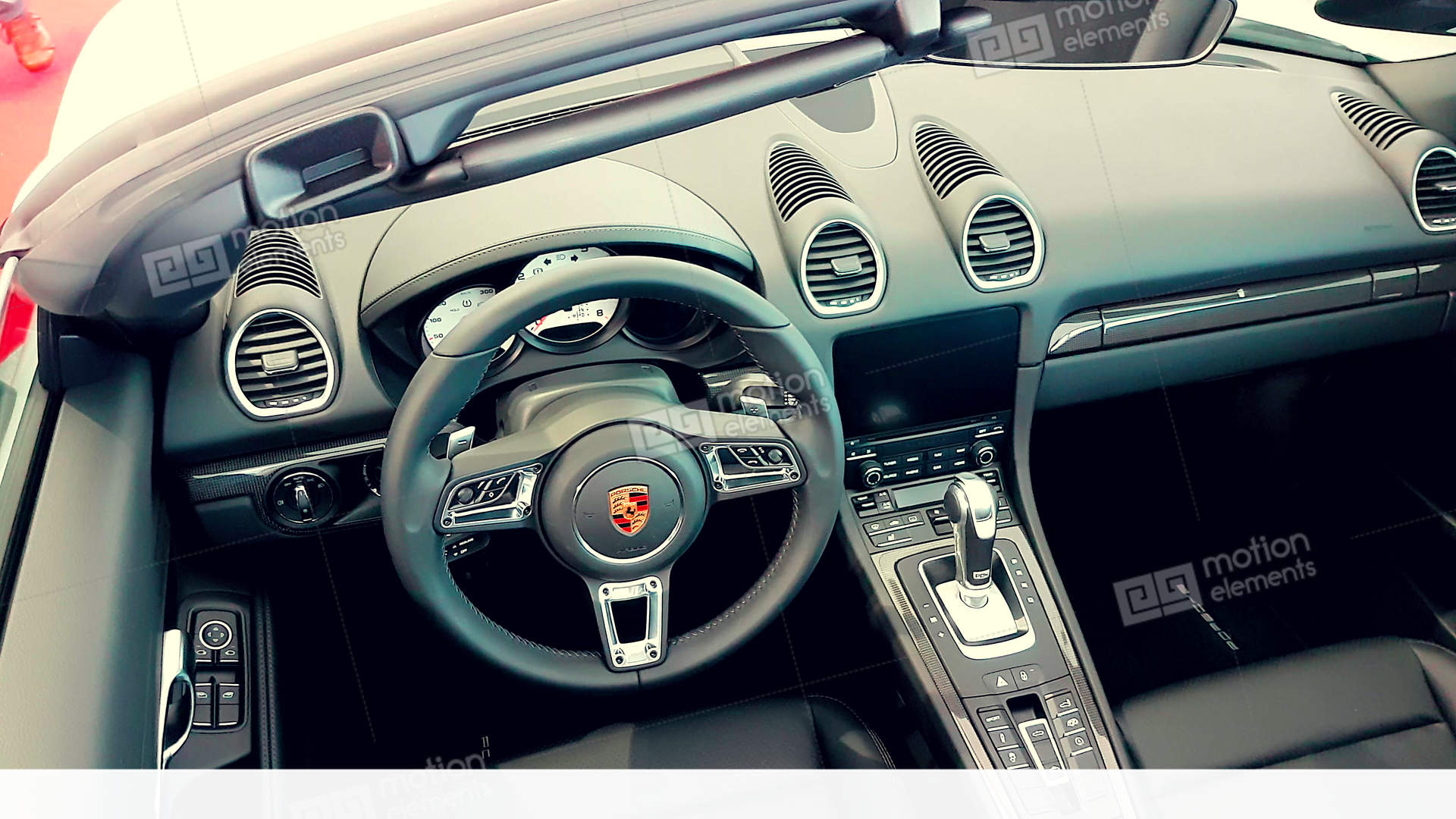 Porsche Boxster Interior Stock Video Footage Great Ideas