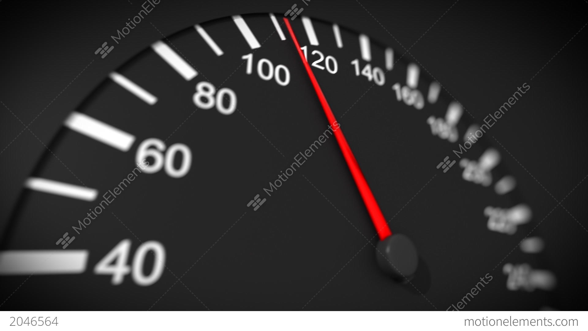 Car Speedometer Close-up. Max Speed. HD 1080 Stock ...