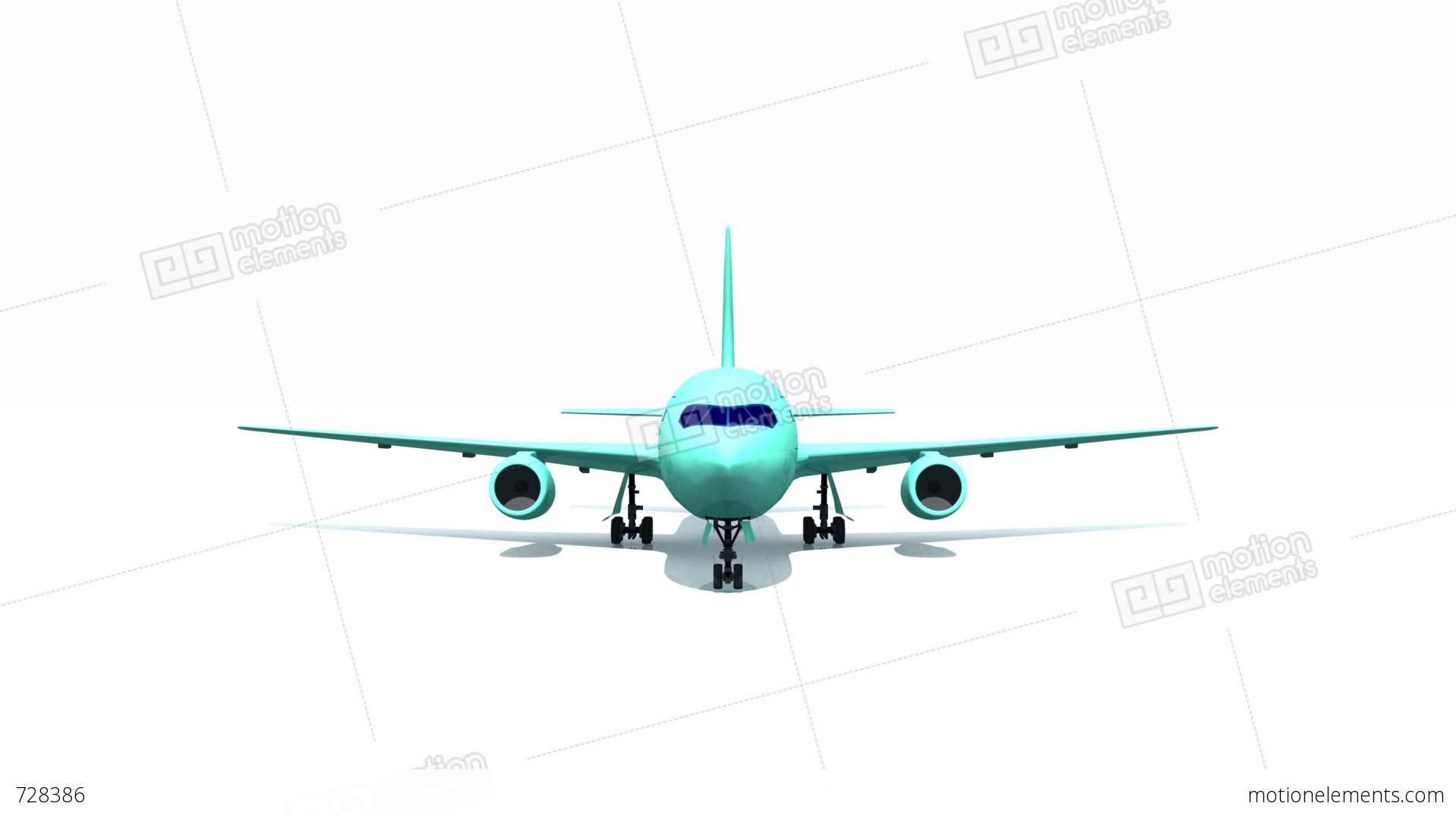 Airplane Stock Animation | 728386