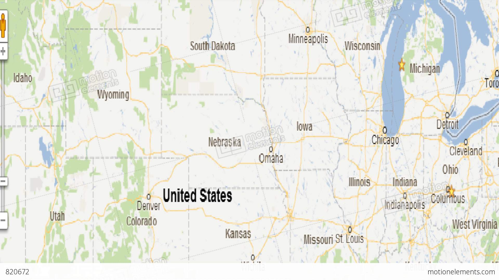 Us map travel animation with car icon stock animation 820672 us map travel animation with car icon stock video footage gumiabroncs Choice Image
