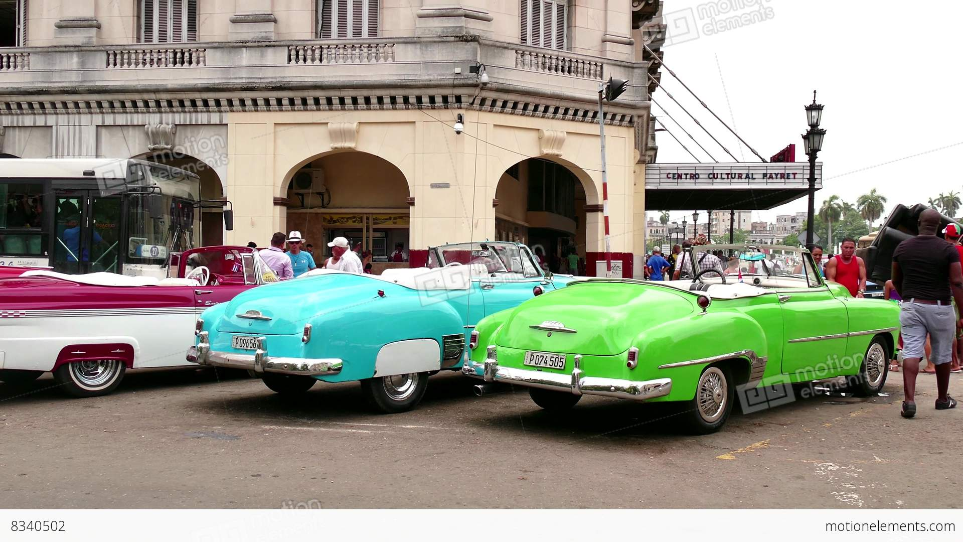 Old Taxis Cabs 1950s Cars For Tourists In Havana Cuba ...1950s Cars For Rent