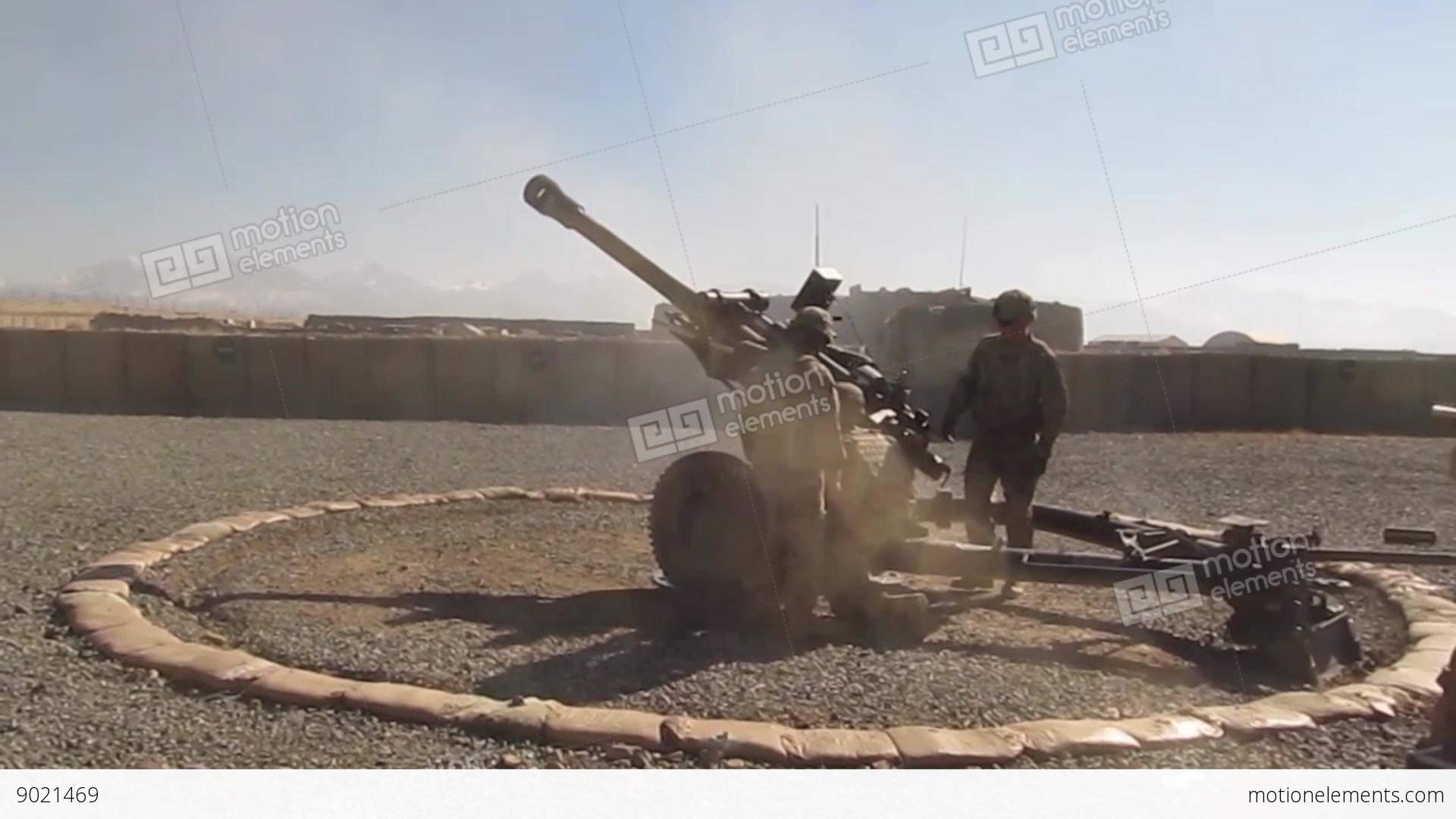 List of Synonyms and Antonyms of the Word: M119 Howitzer