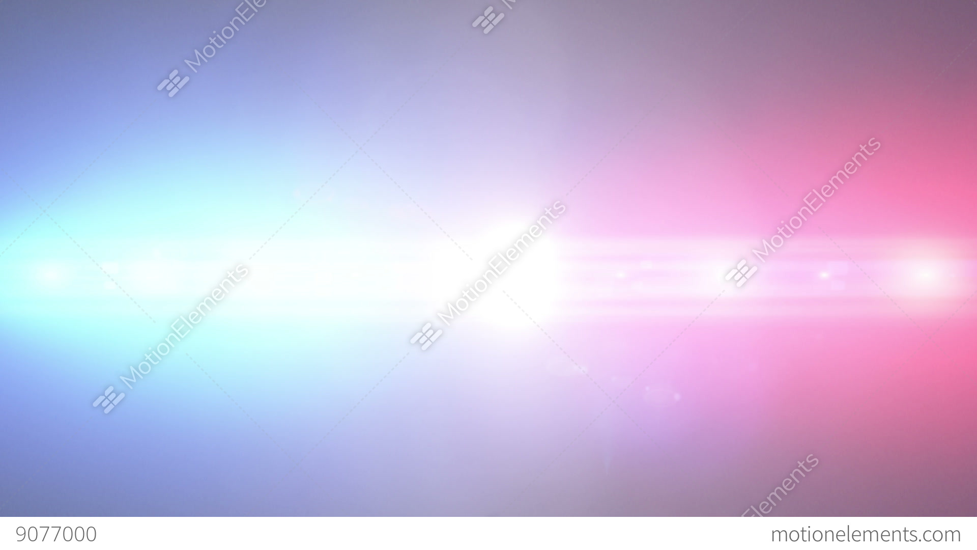 Police Lights Background, Loop Stock Animation  9077000