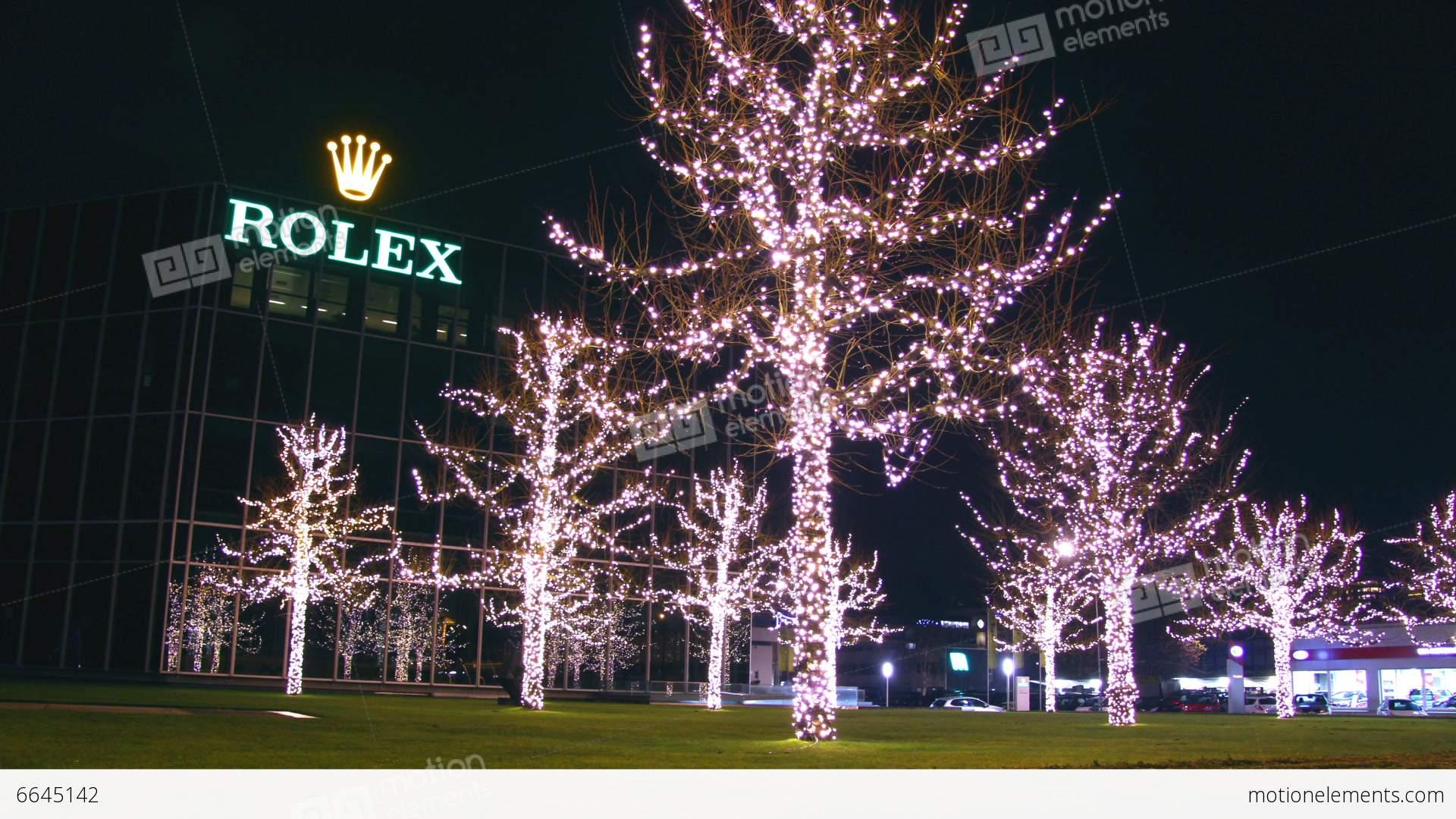 Geneva At Christmas Stock Video Footage