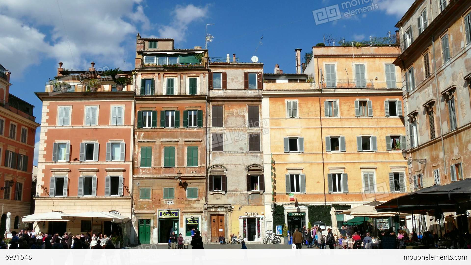 Houses homes in trastevere square rome roma italy italia for Rome in rome