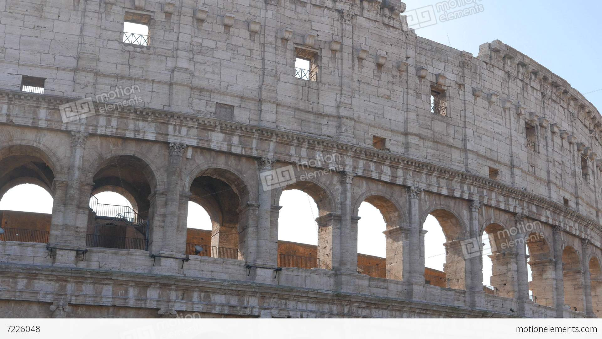 View of the coliseum rome italy stock video footage 7226048 view of the coliseum rome italy stock video footage publicscrutiny Images