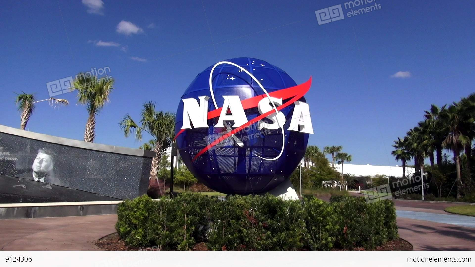 NASA Logo At Kennedy Space Center Cape Canaveral – CAPE