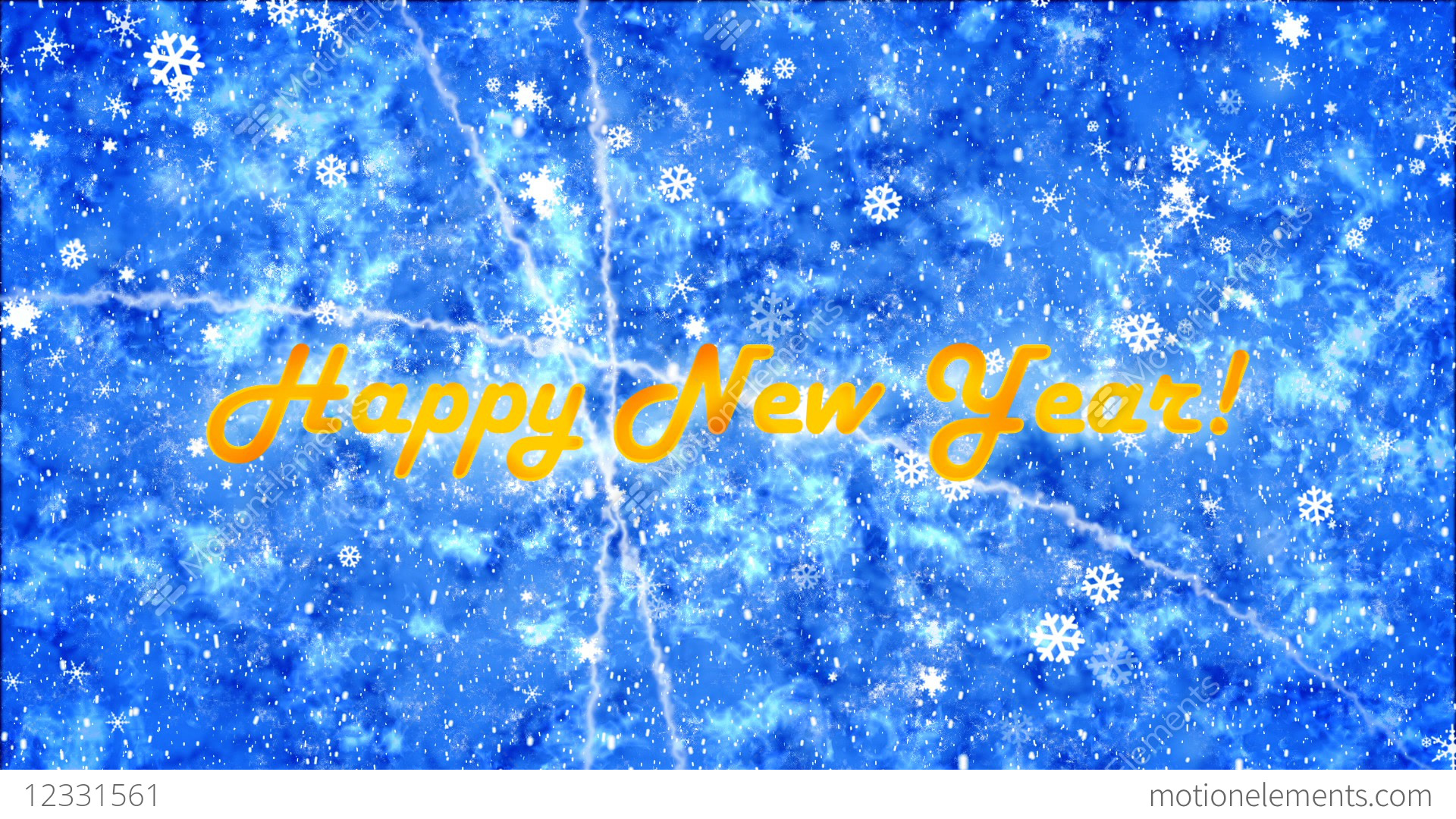 Background With New Year Greetings Stock Animation 12331561