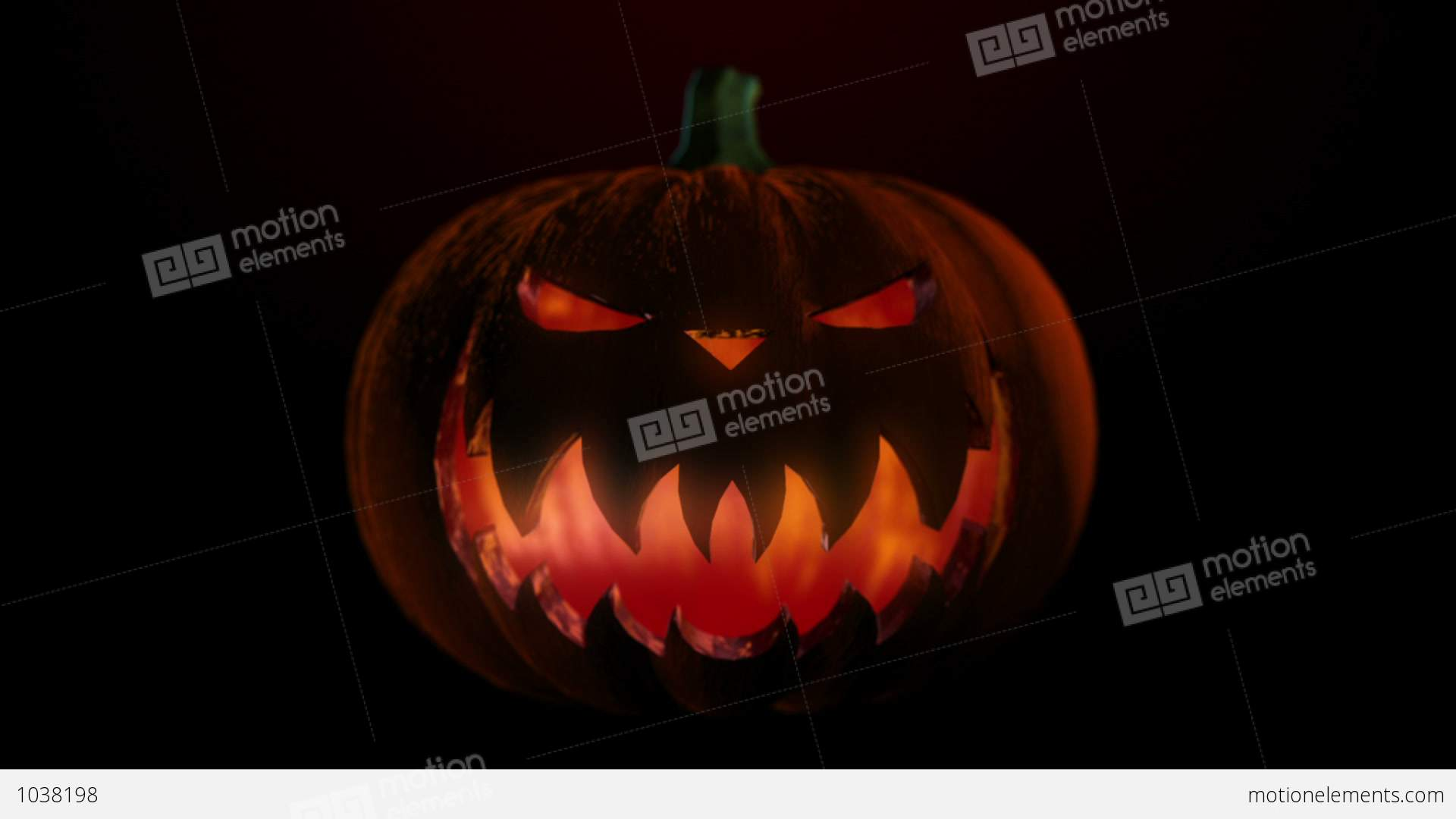 Pumpkin 1 - Halloween Party Video Background Loop Stock Animation ...