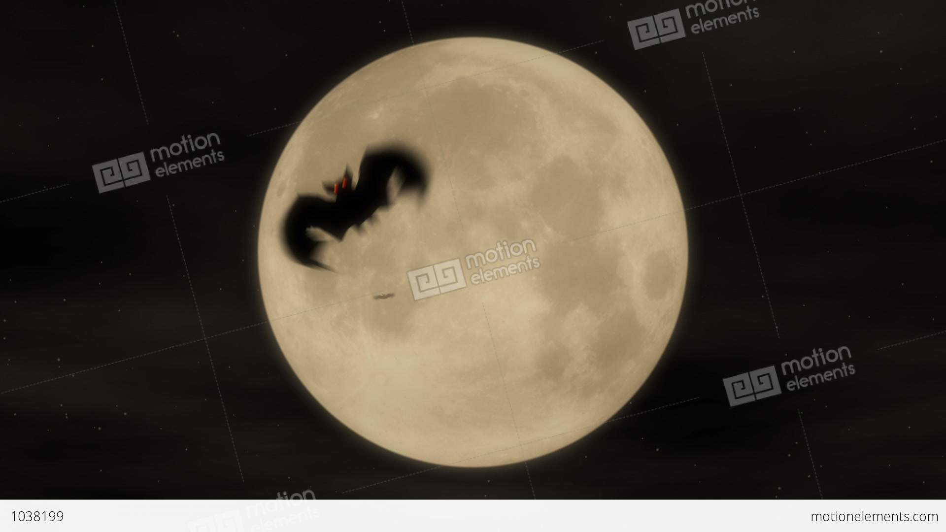 Bat Attack 1 - Halloween Party Video Background Loop Stock ...