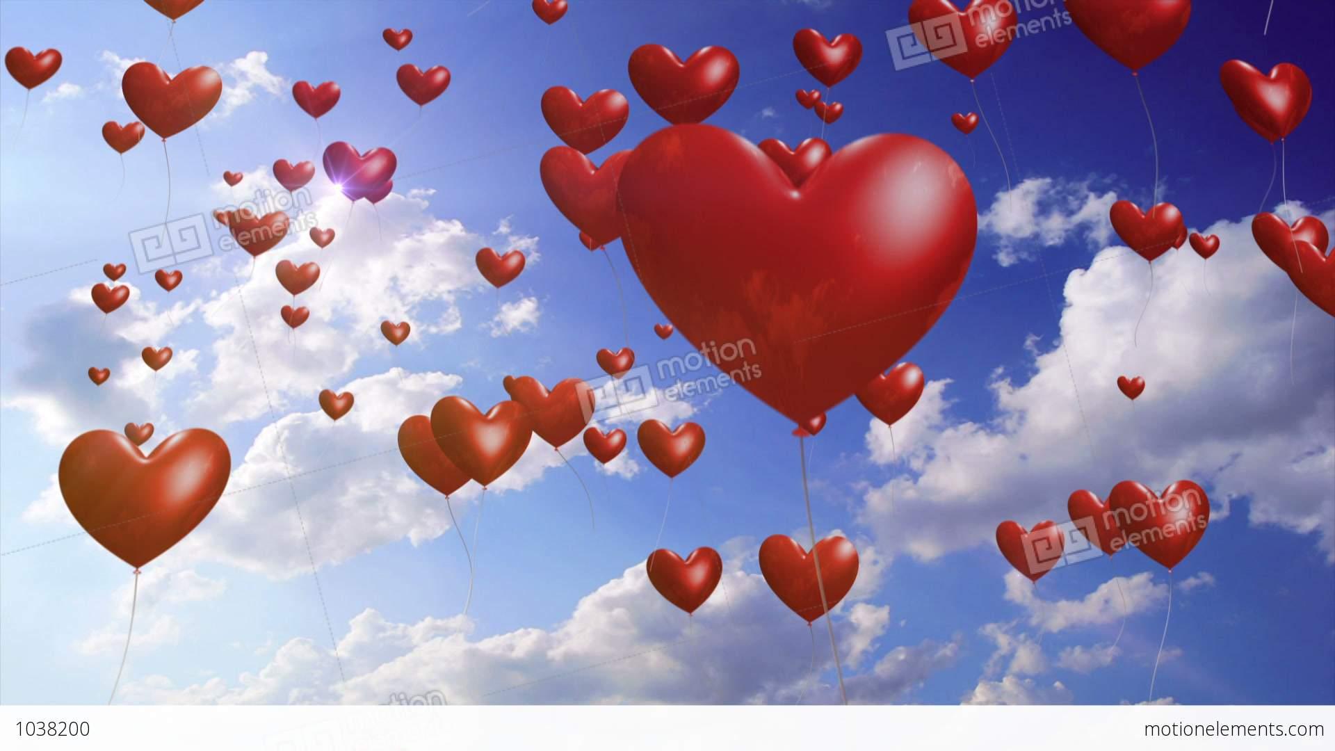 desktop wallpaper valentine heart balloons - photo #26