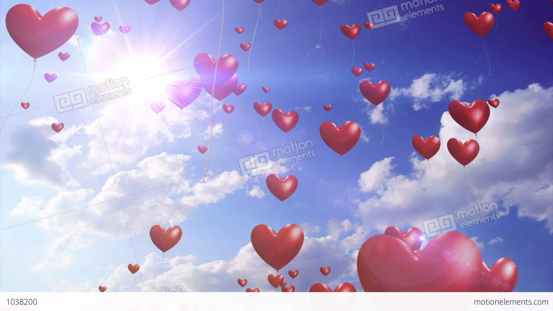 desktop wallpaper valentine heart balloons - photo #20