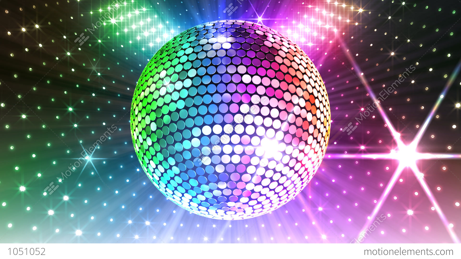 Disco ball animated