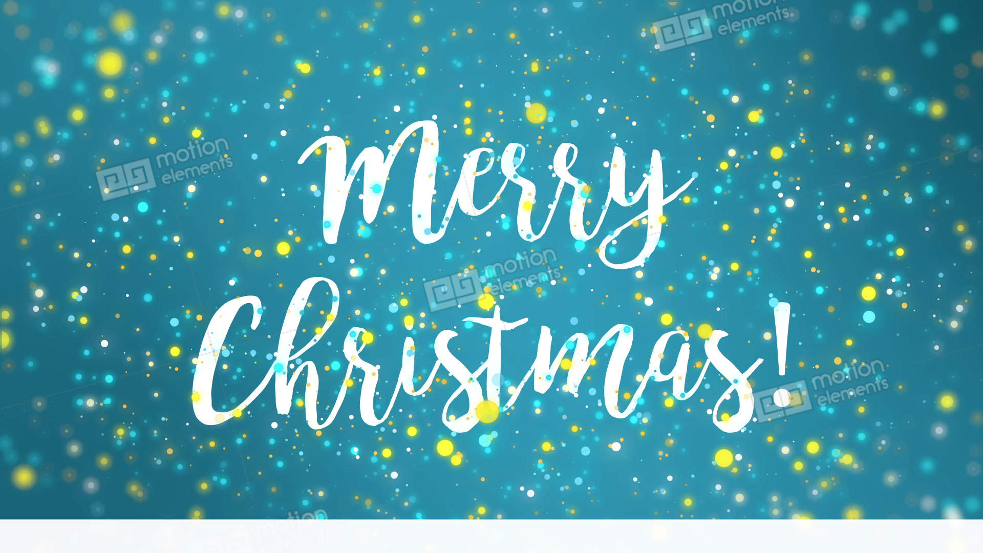 Sparkly blue yellow merry christmas greeting card video stock sparkly blue yellow merry christmas greeting card video stock video footage m4hsunfo