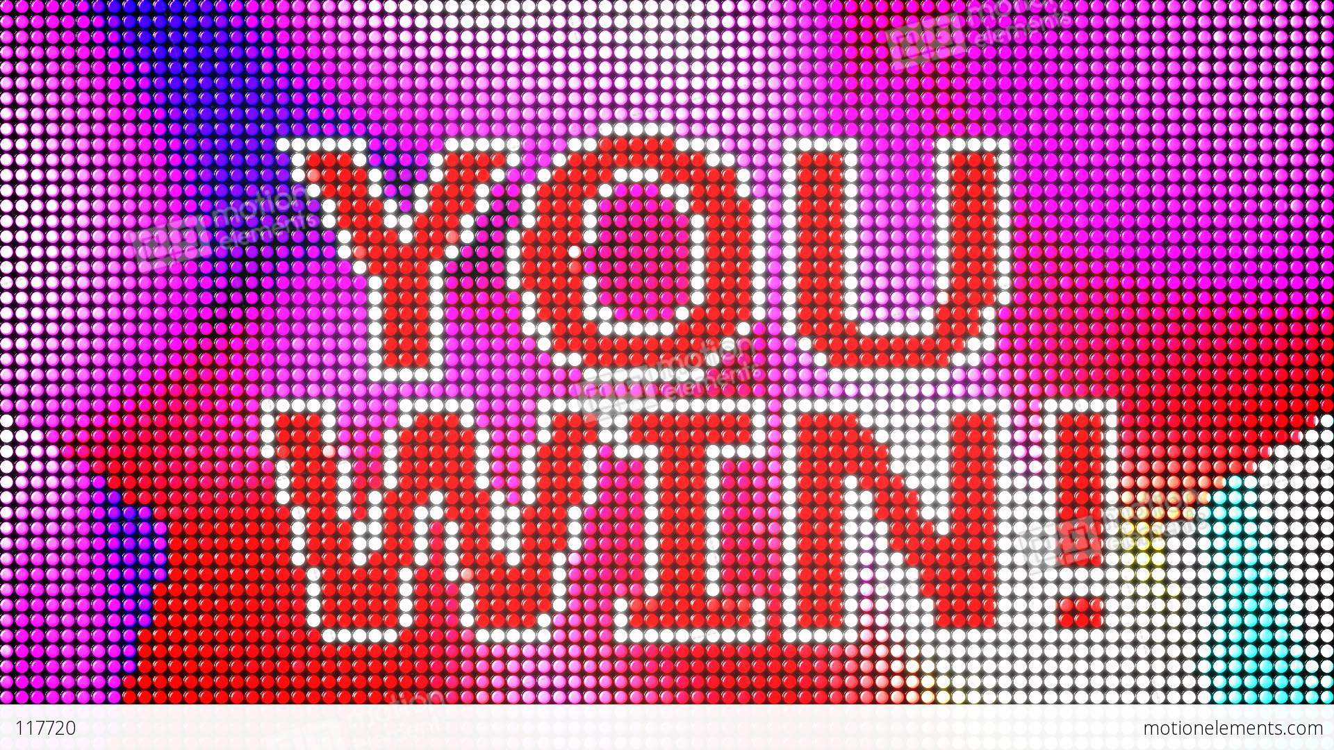 You Win Led Screen Loop Stock Animation | Royalty-Free Stock Animation ...
