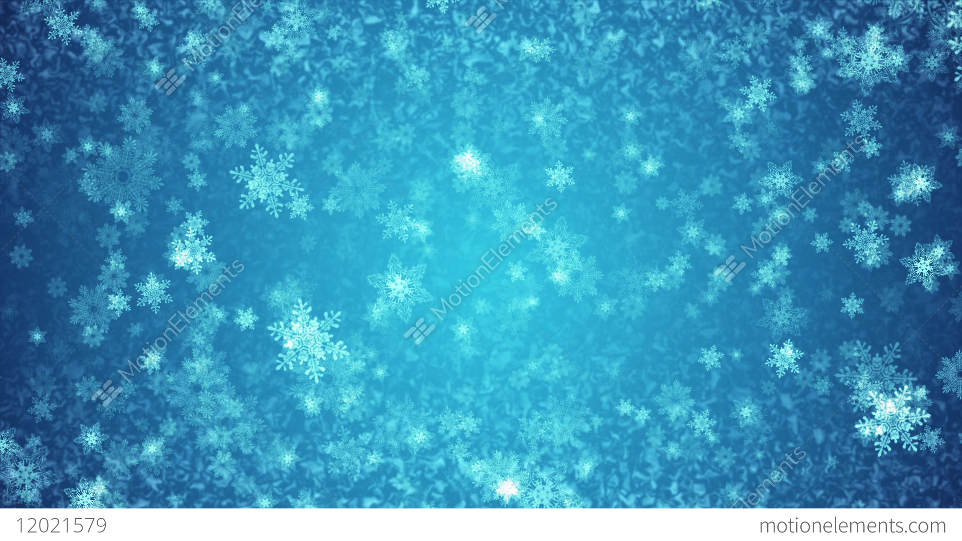 winter christmas background stock animation 12021579
