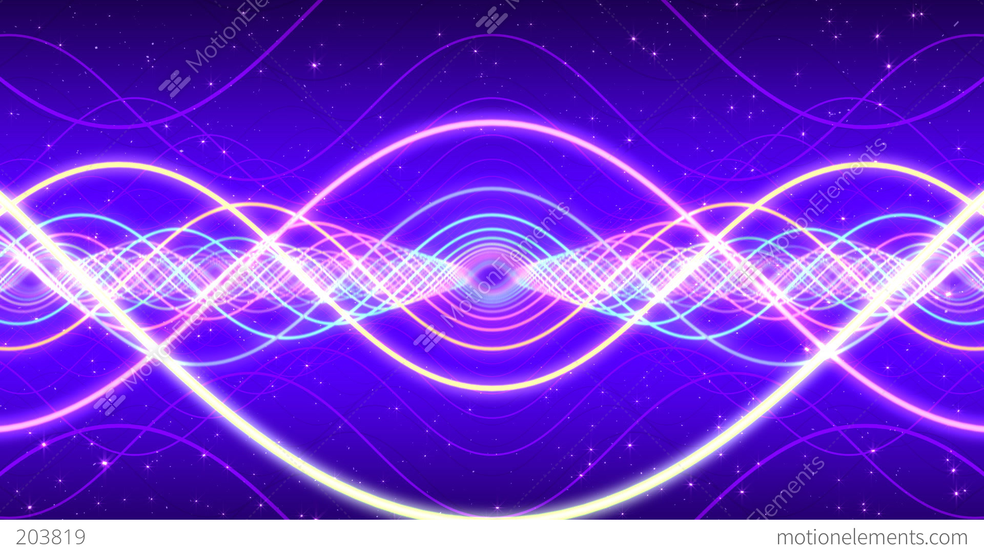 light waves stock animation 203819