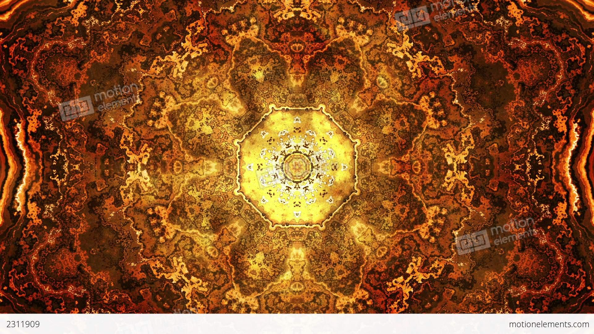 Mandala Background Design Stock Animation